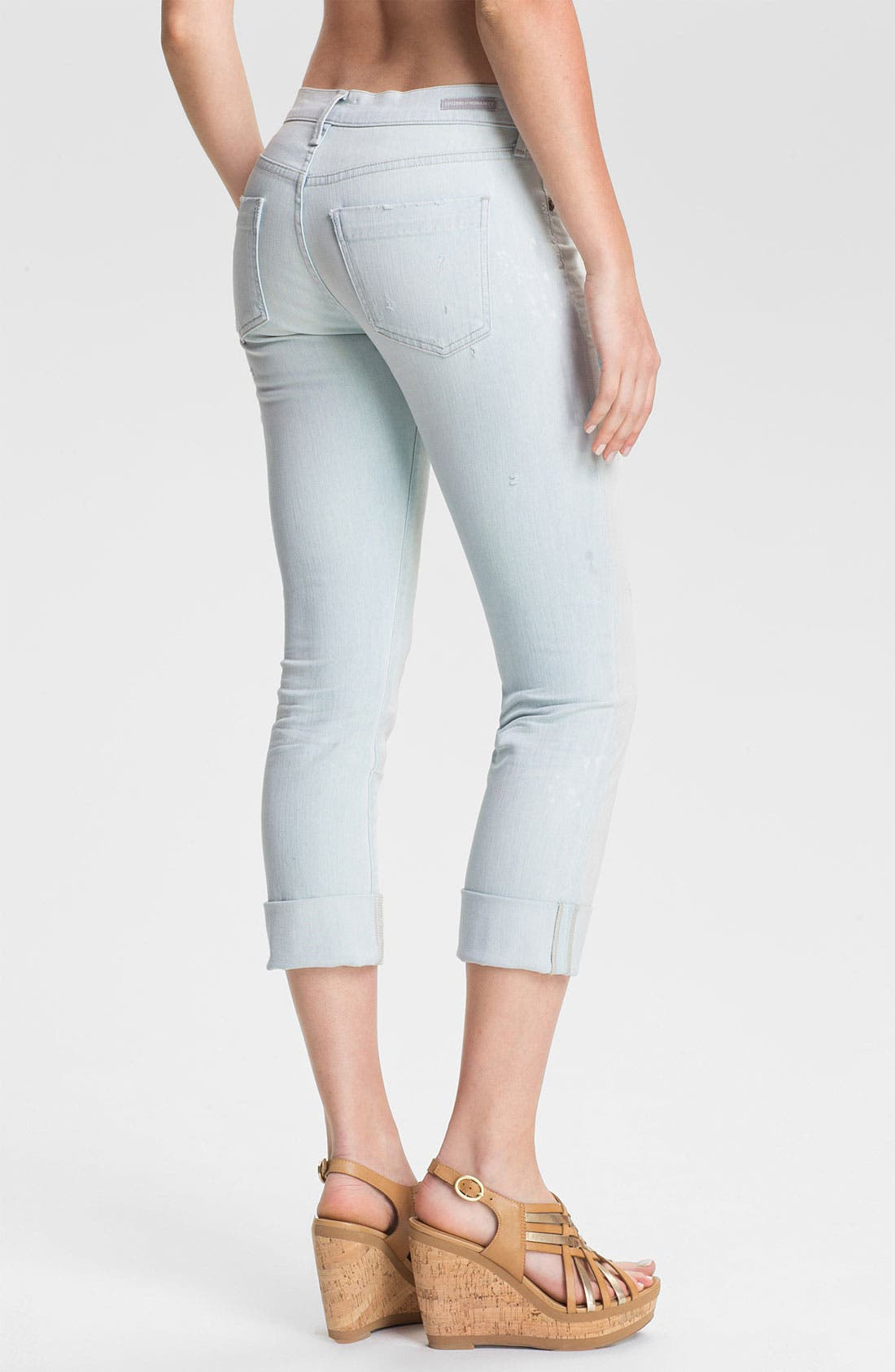Alternate Image 2  - Citizens of Humanity 'Dani' Crop Straight Leg Jeans (Renegade)