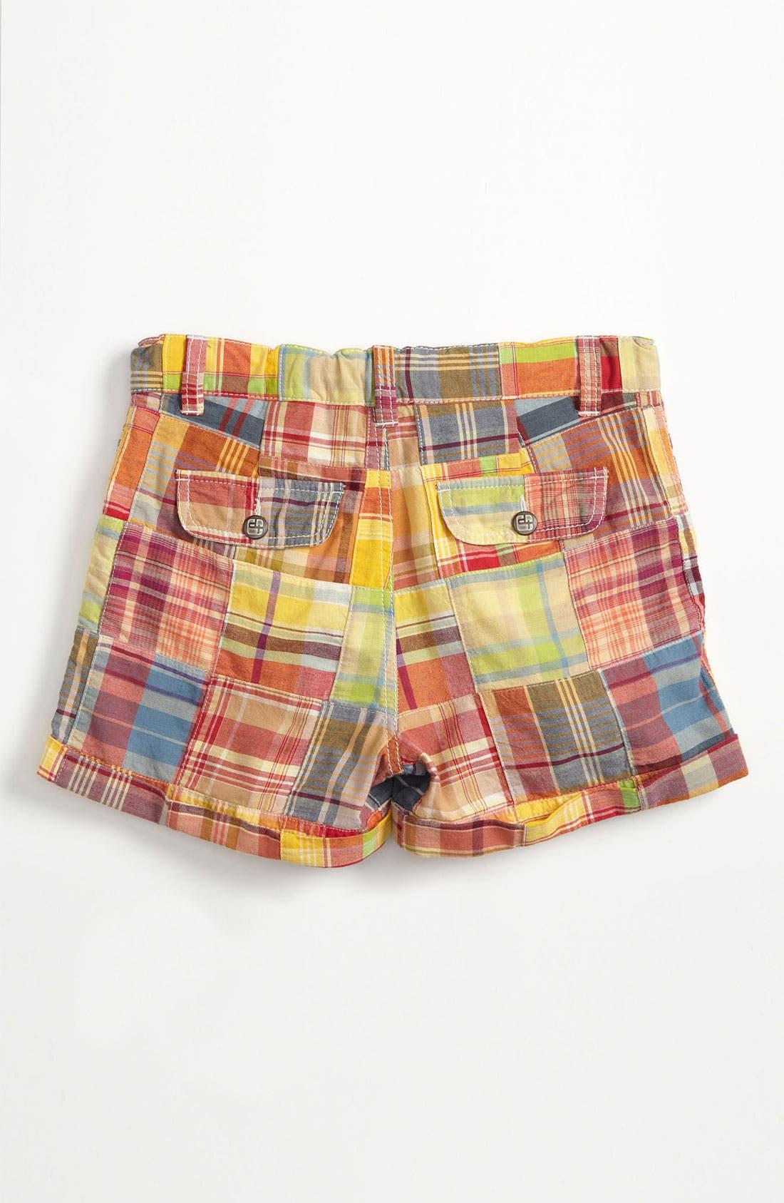 Alternate Image 1 Selected - Tucker + Tate 'Clover' Patchwork Shorts (Big Girls)