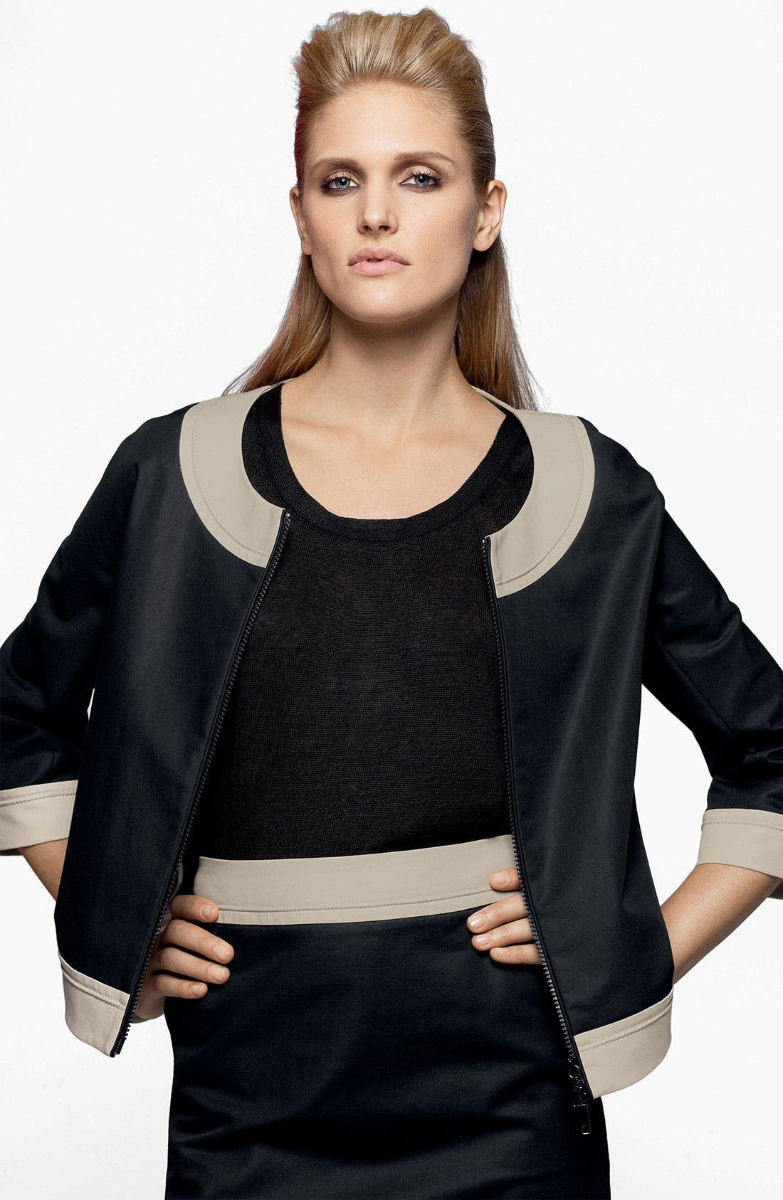 Alternate Image 6  - Lafayette 148 New York 'Barrett - Metropolitan Stretch' Jacket (Online Only)