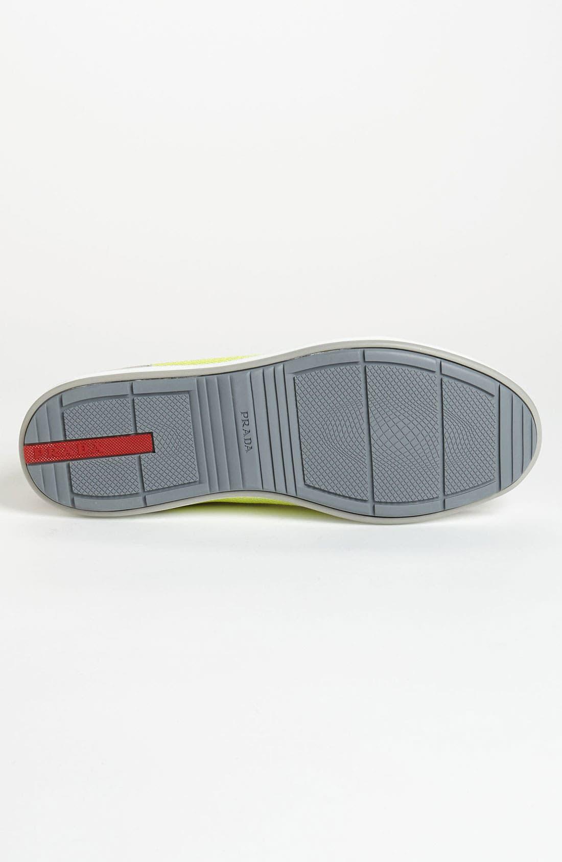 Alternate Image 4  - Prada Colored Mesh Sneaker