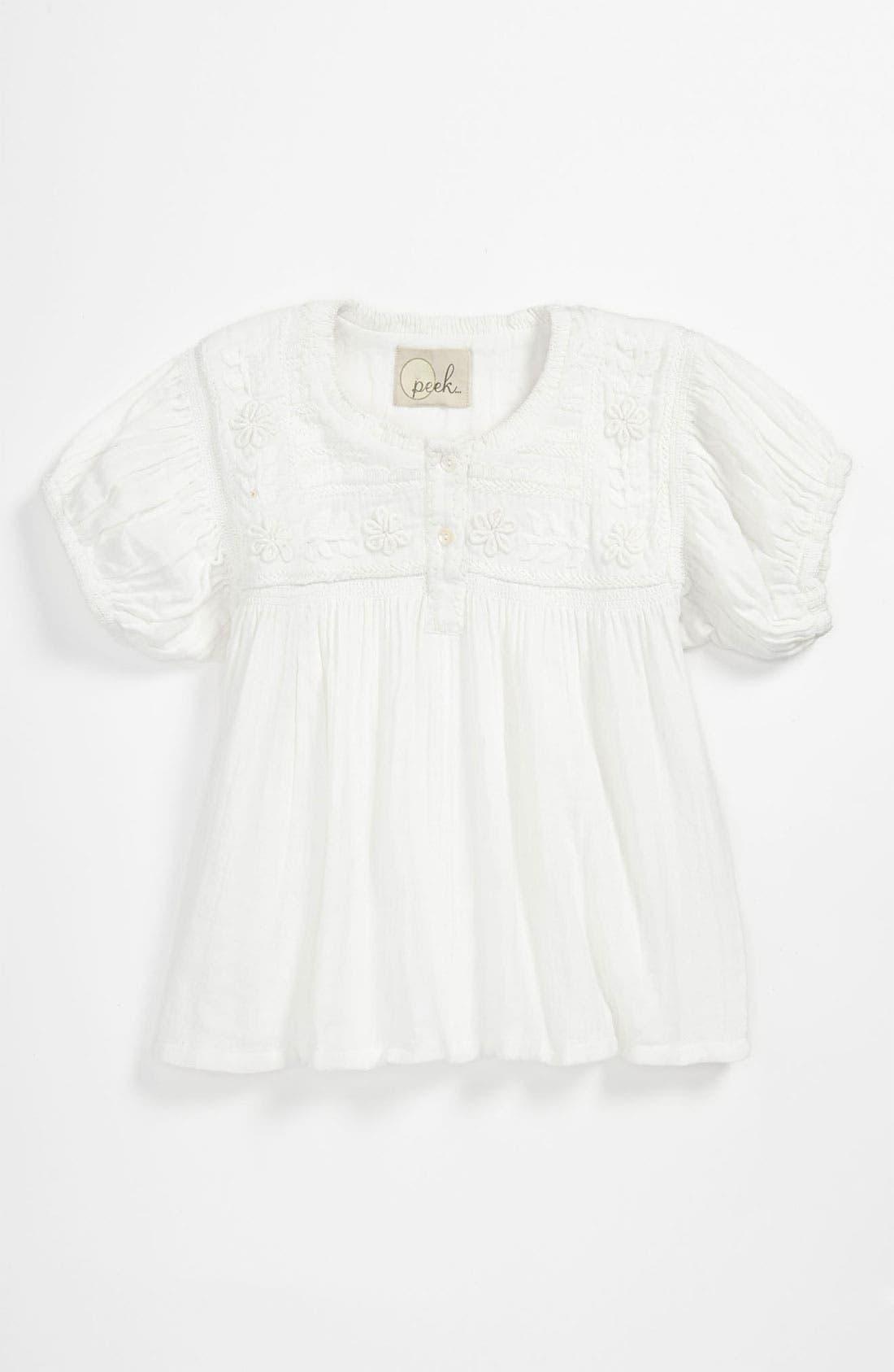 Alternate Image 1 Selected - Peek 'Yvette' Top (Toddler, Little Girls & Big Girls)