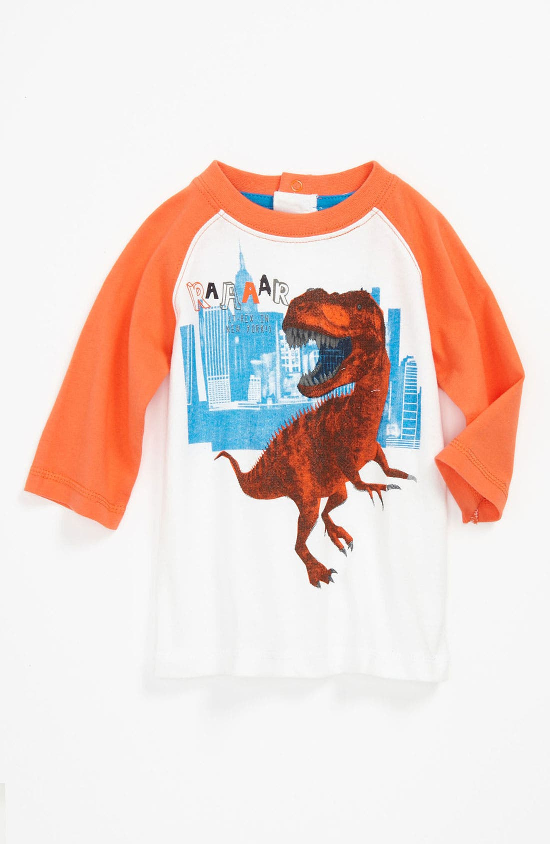 Alternate Image 1 Selected - Pumpkin Patch Baseball T-Shirt (Baby)