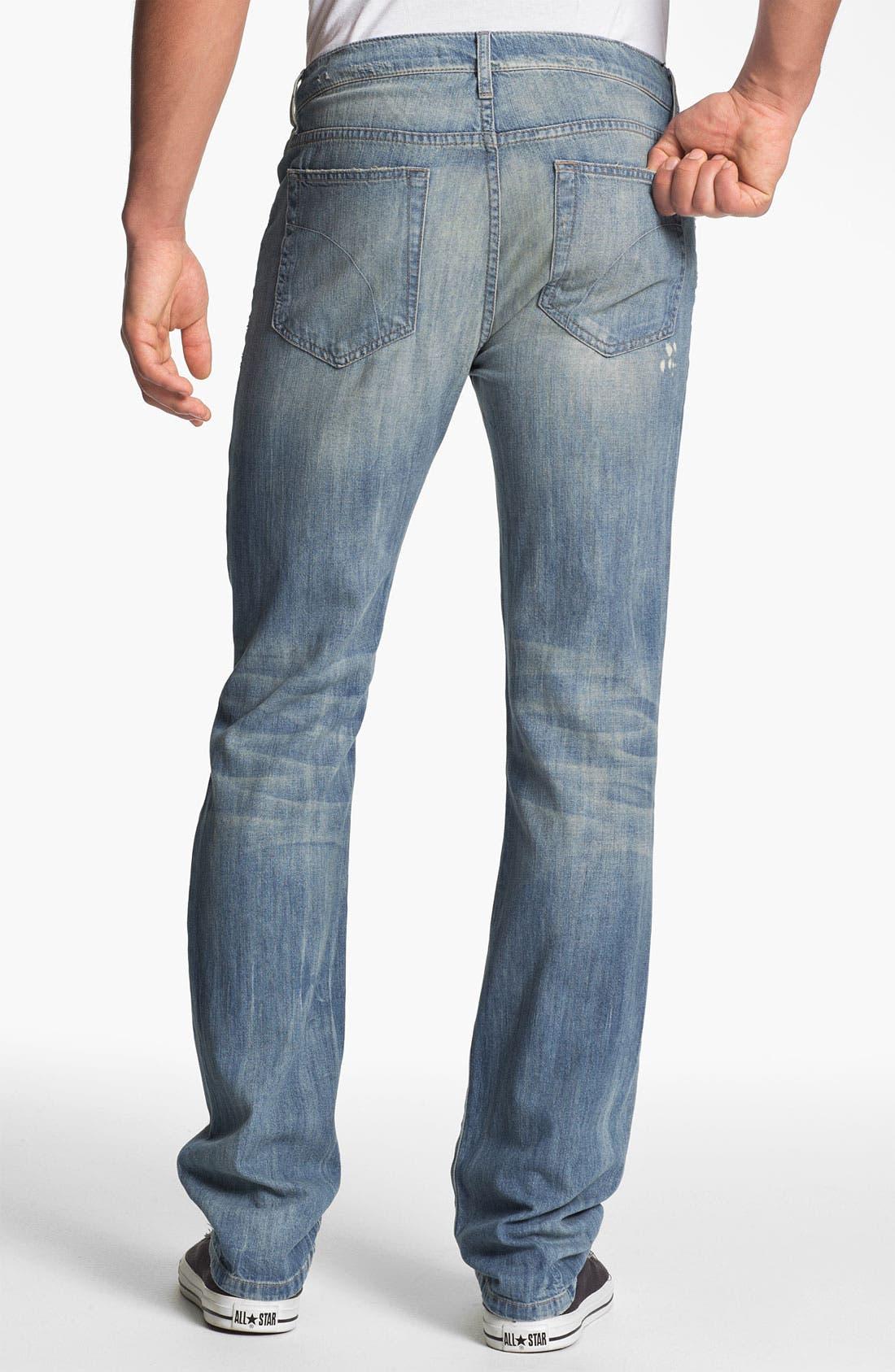 Alternate Image 1 Selected - Joe's 'Brixton' Slim Straight Leg Jeans (Wyeth)