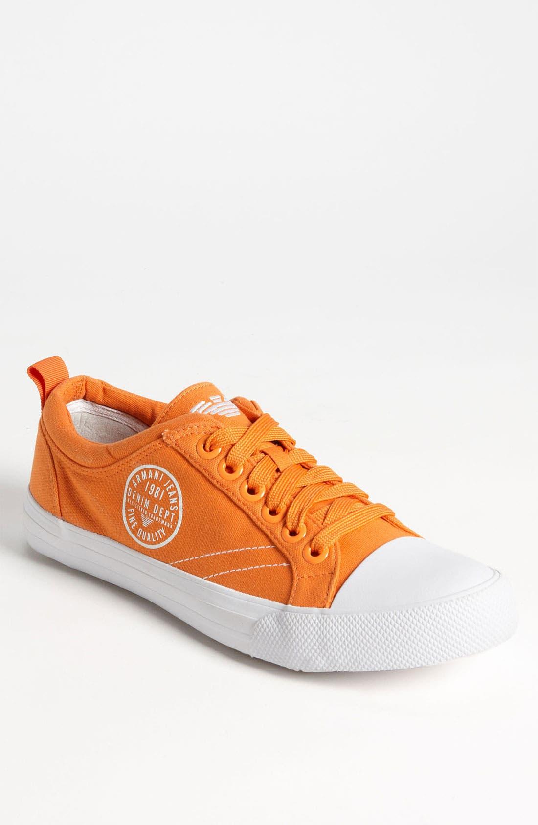 Alternate Image 1 Selected - Armani Jeans Logo Sneaker