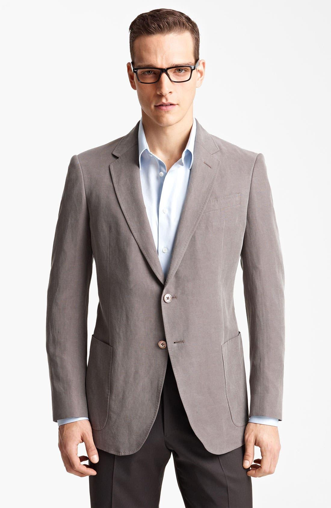 Alternate Image 1 Selected - Armani Collezioni Sportcoat
