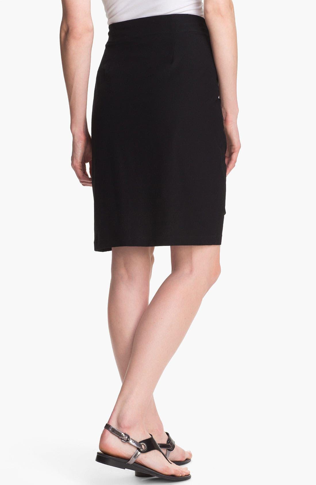 Alternate Image 2  - Eileen Fisher Knit Pencil Skirt (Regular & Petite)