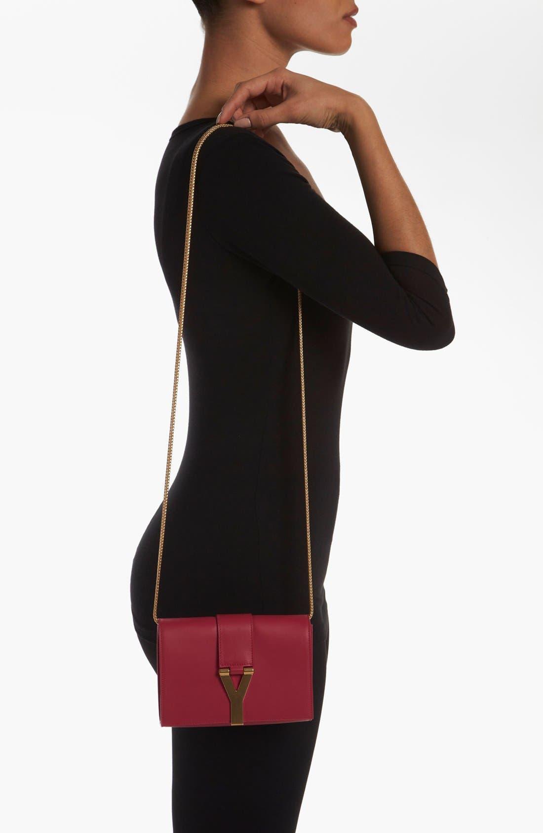 Alternate Image 2  - Saint Laurent 'Y Chain - Mini' Leather Handbag