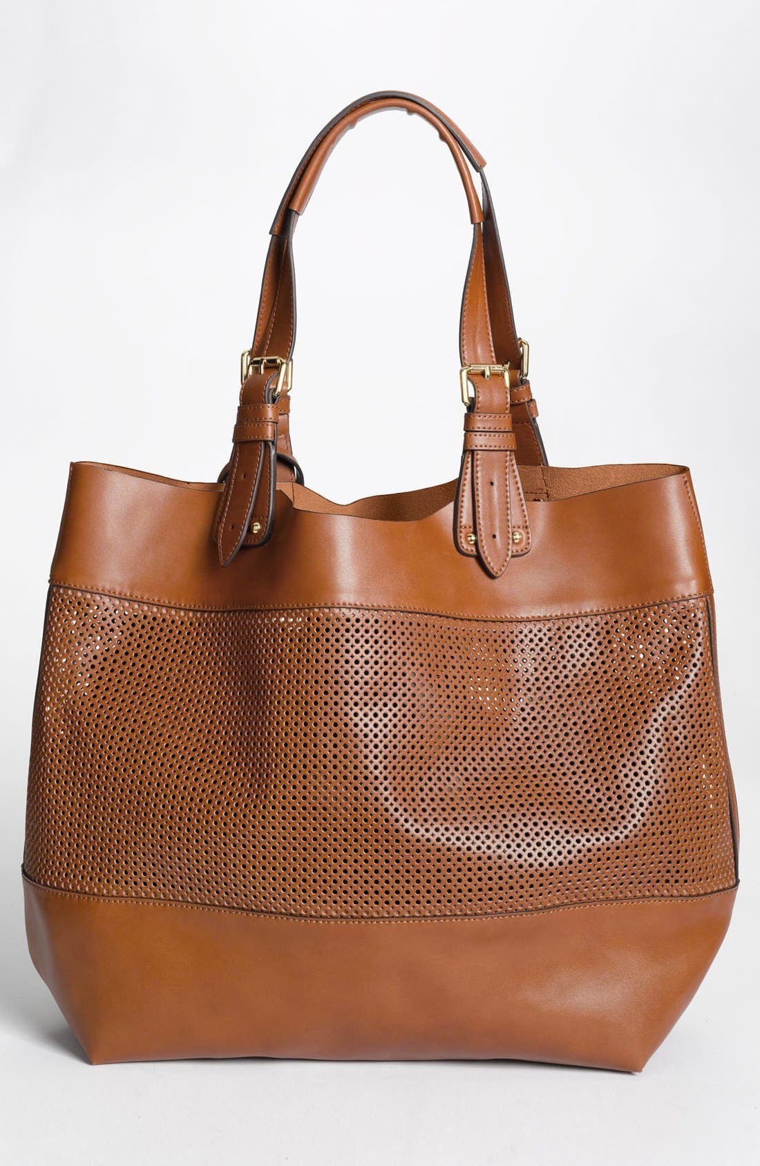 Alternate Image 4  - Vince Camuto Perforated Leather Tote