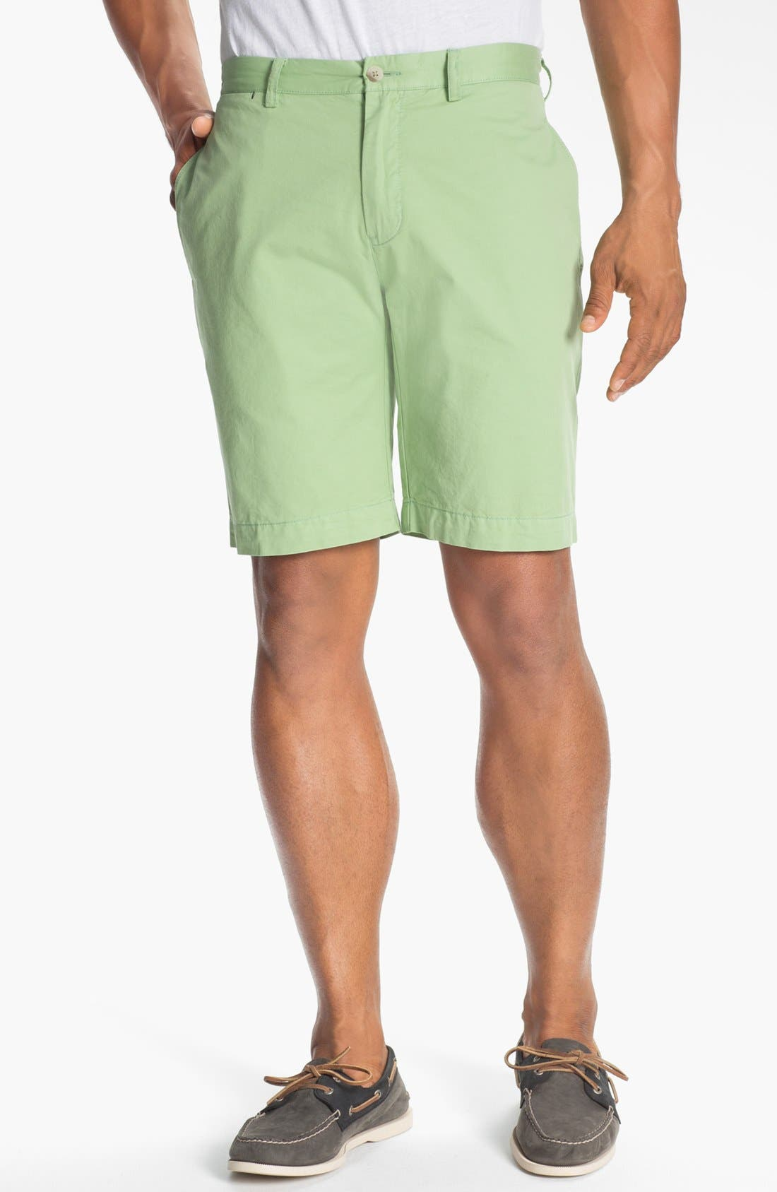 Alternate Image 1 Selected - Maker & Company Twill Shorts
