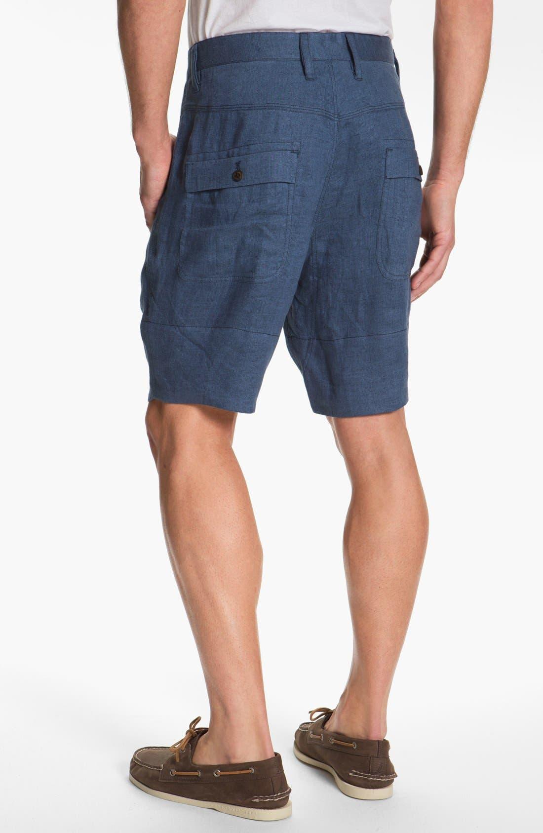 Alternate Image 2  - Hyden Yoo 'William' Linen Shorts