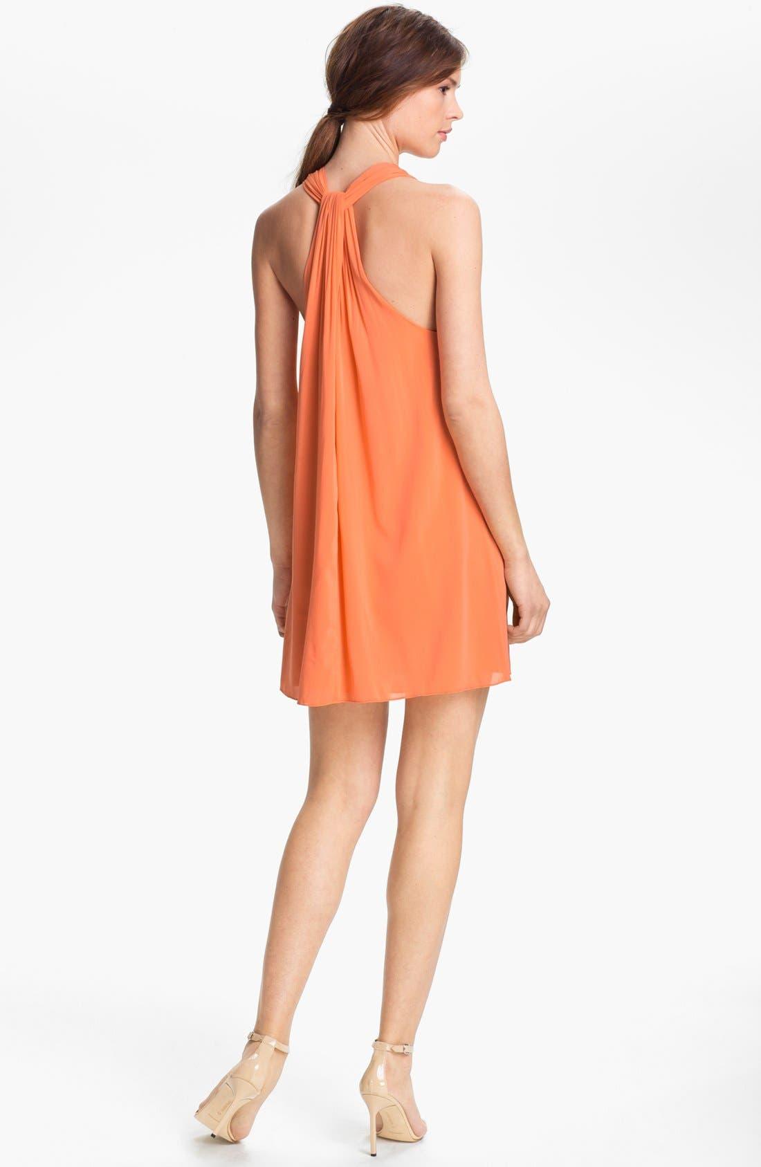 Alternate Image 2  - Alice + Olivia 'Marion' Twist Back Tunic Dress