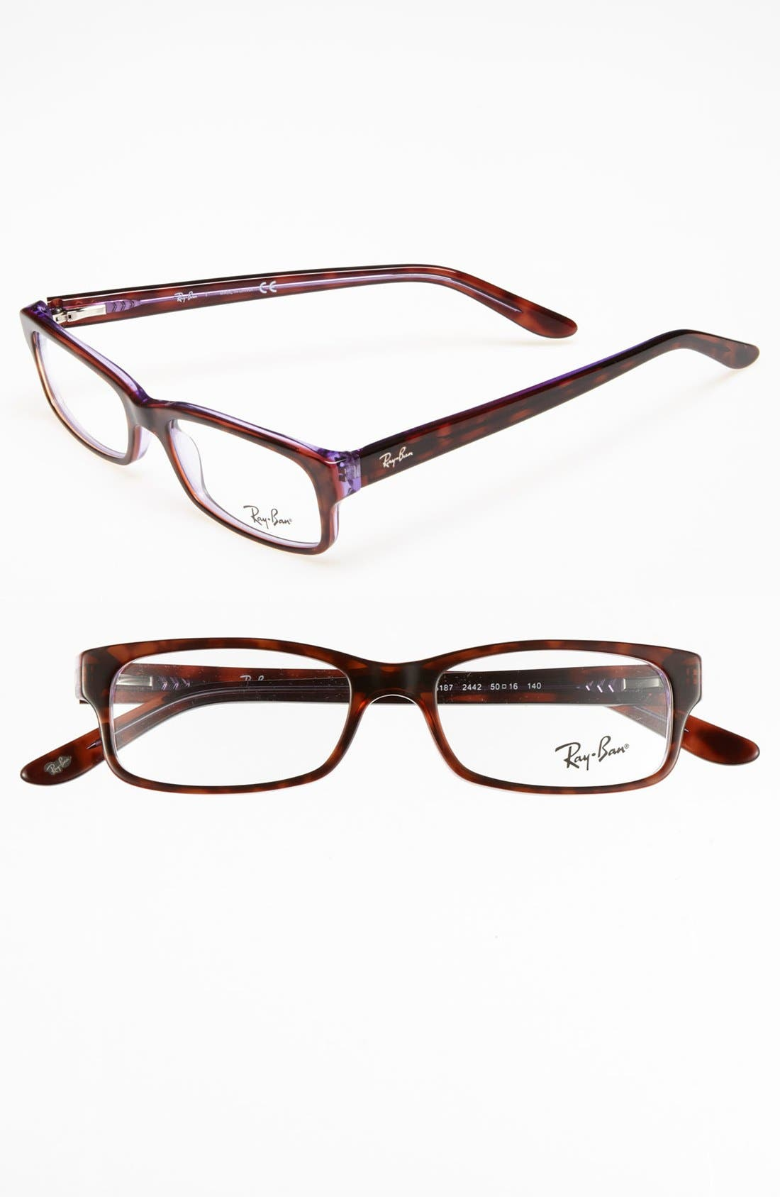Alternate Image 1 Selected - Ray-Ban 50mm Optical Glasses (Online Only)