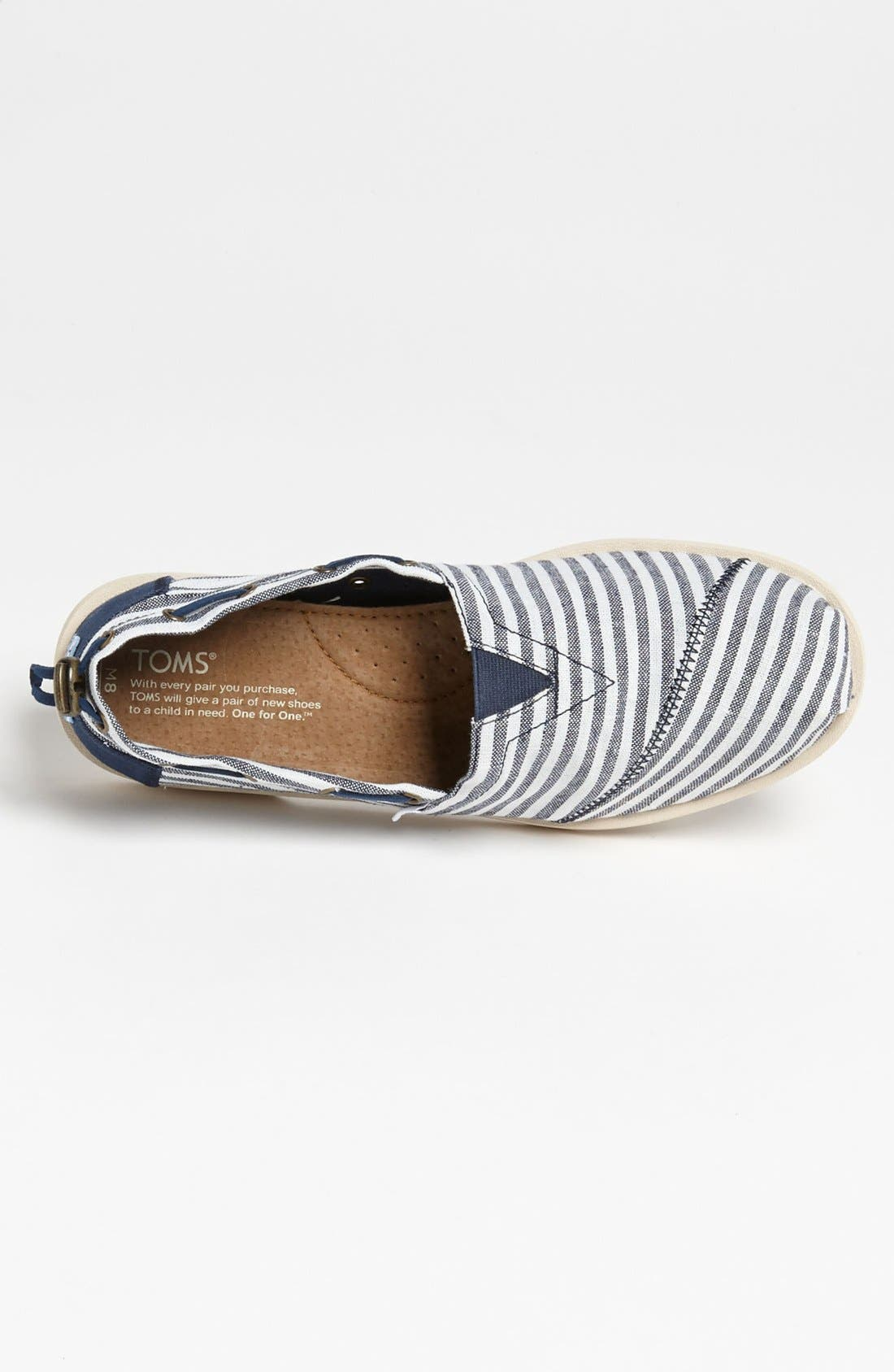 Alternate Image 3  - TOMS 'Bimini - Nautical' Boat Shoe (Men)