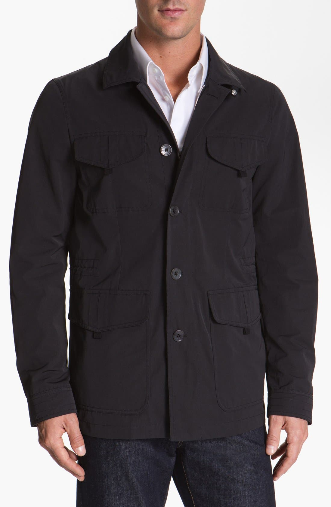 Alternate Image 1 Selected - Canali Tech Jacket