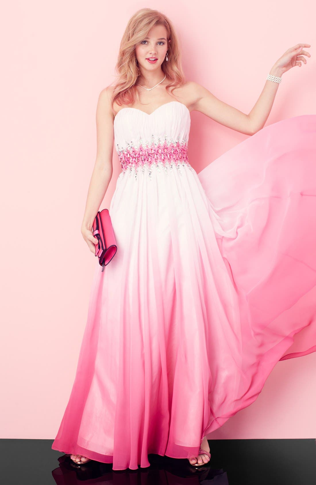 Alternate Image 3  - Sean Collection Ball Gown & Accessories