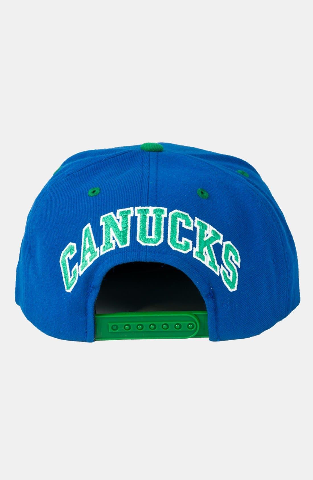 Alternate Image 2  - American Needle 'Vancouver Canucks - Blockhead' Snapback Hockey Cap