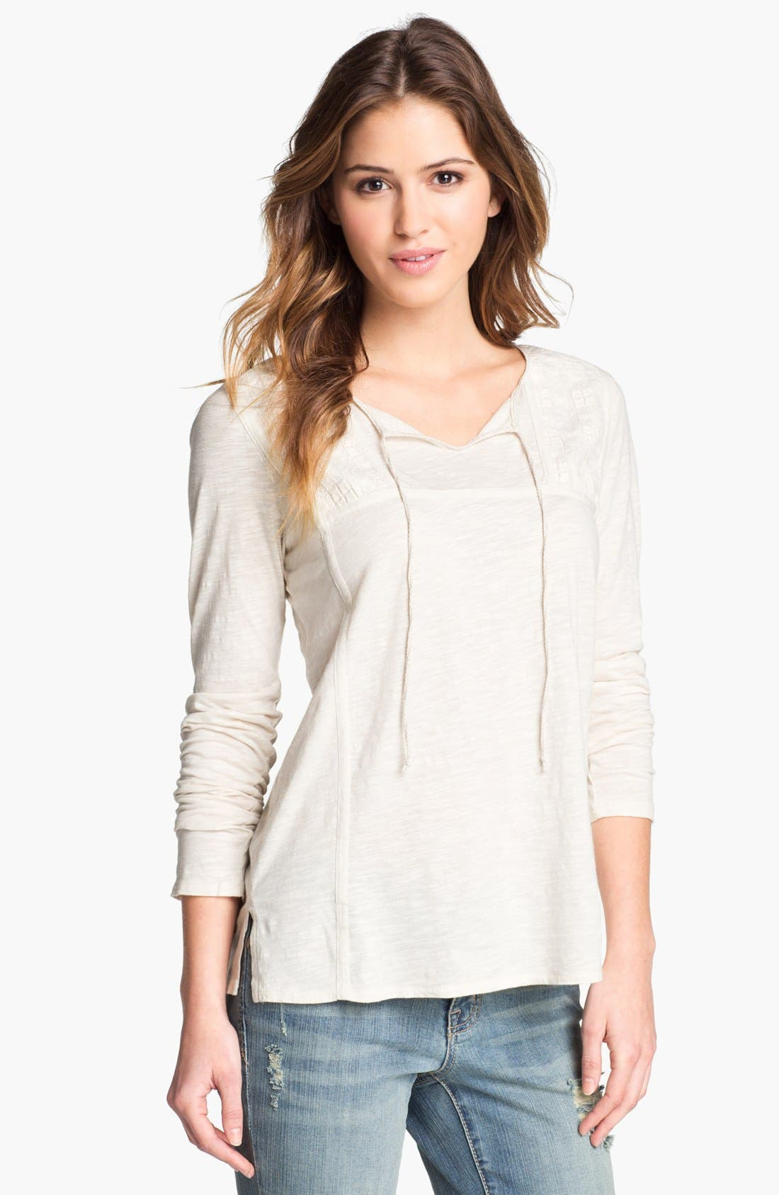 Alternate Image 1 Selected - Lucky Brand 'Dora' Top