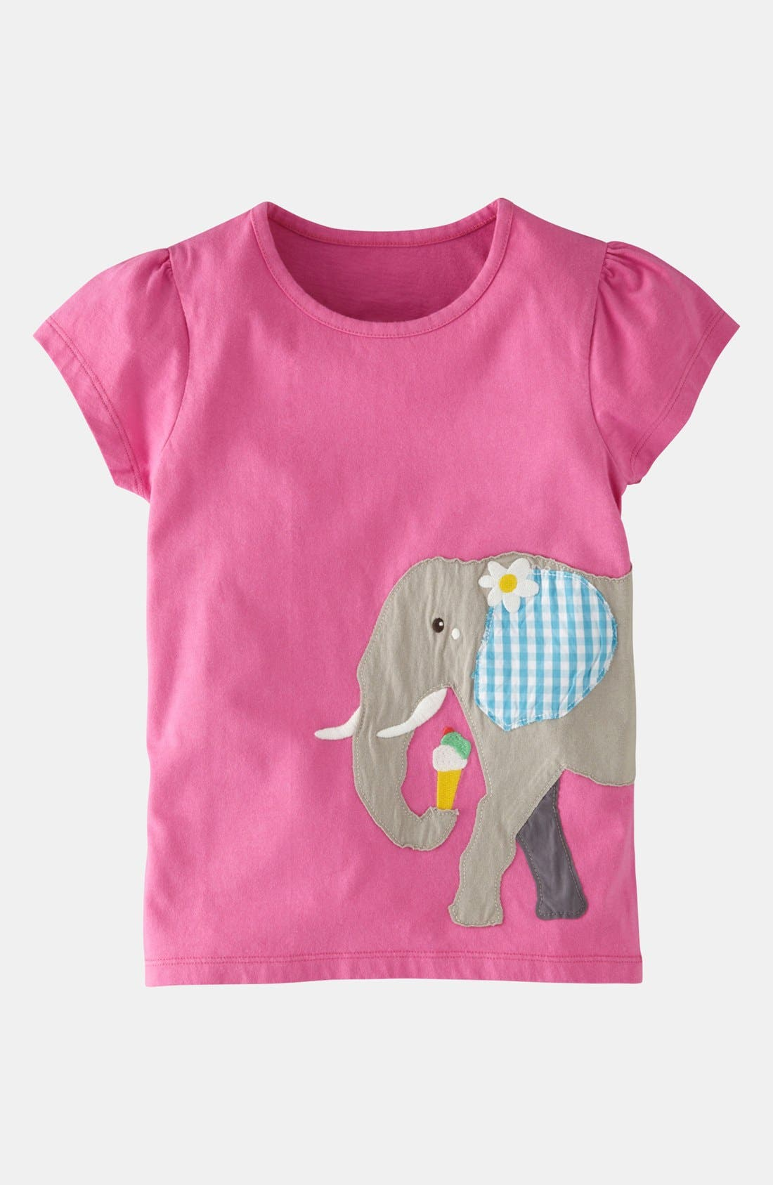 Main Image - Mini Boden 'Animals Abroad' Tee (Little Girls & Big Girls)