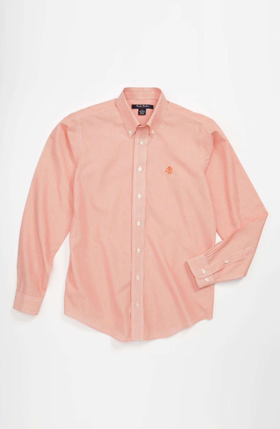 Alternate Image 1 Selected - Brooks Brothers Non-Iron Sport Shirt (Big Boys)