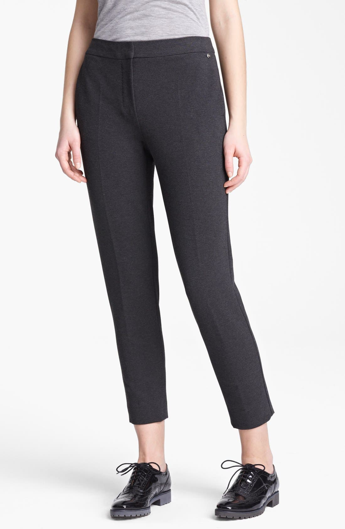 Alternate Image 1 Selected - Max Mara Slim Jersey Pants