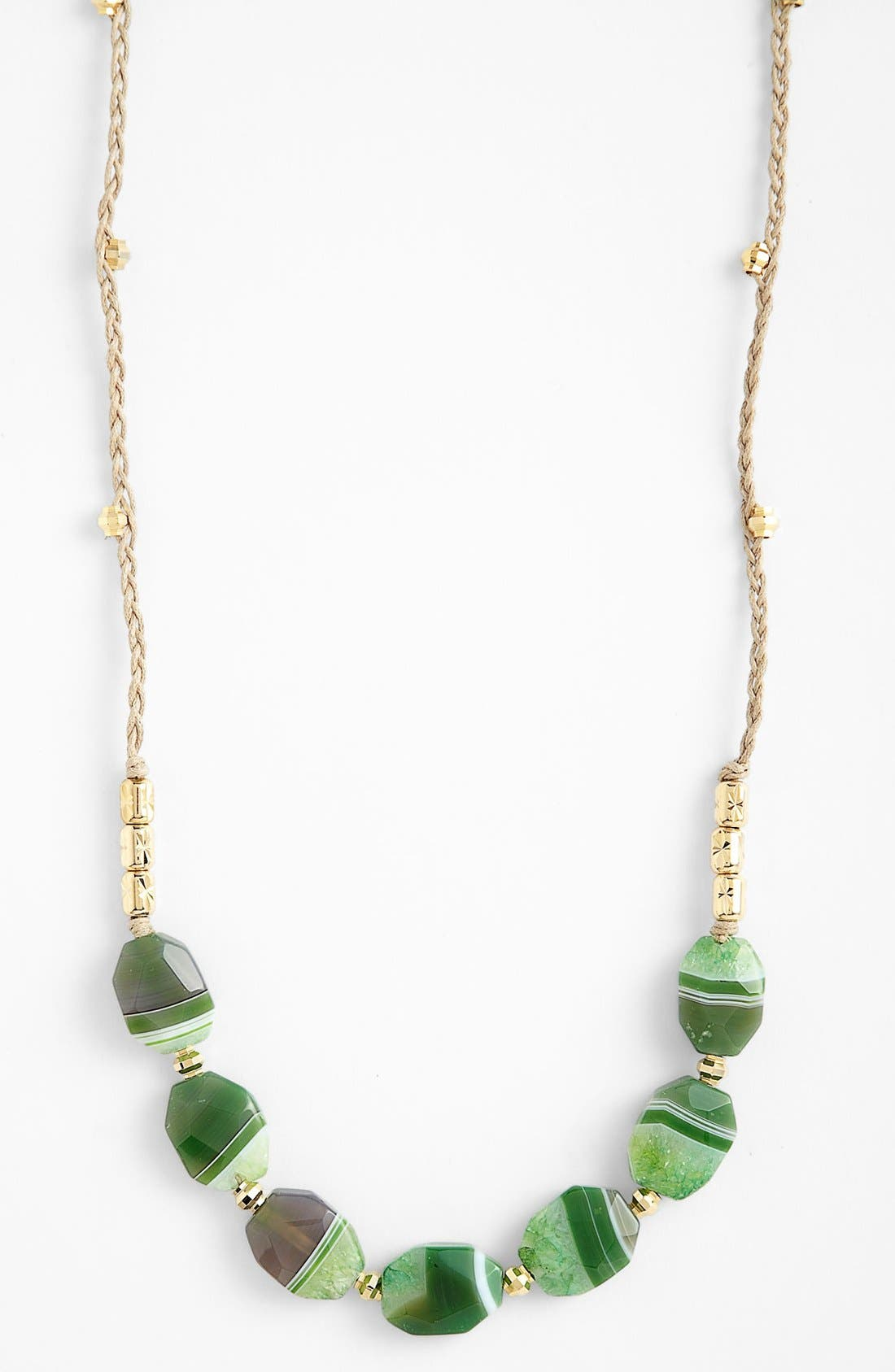 Alternate Image 1 Selected - Nordstrom 'Grotto' Long Frontal Necklace
