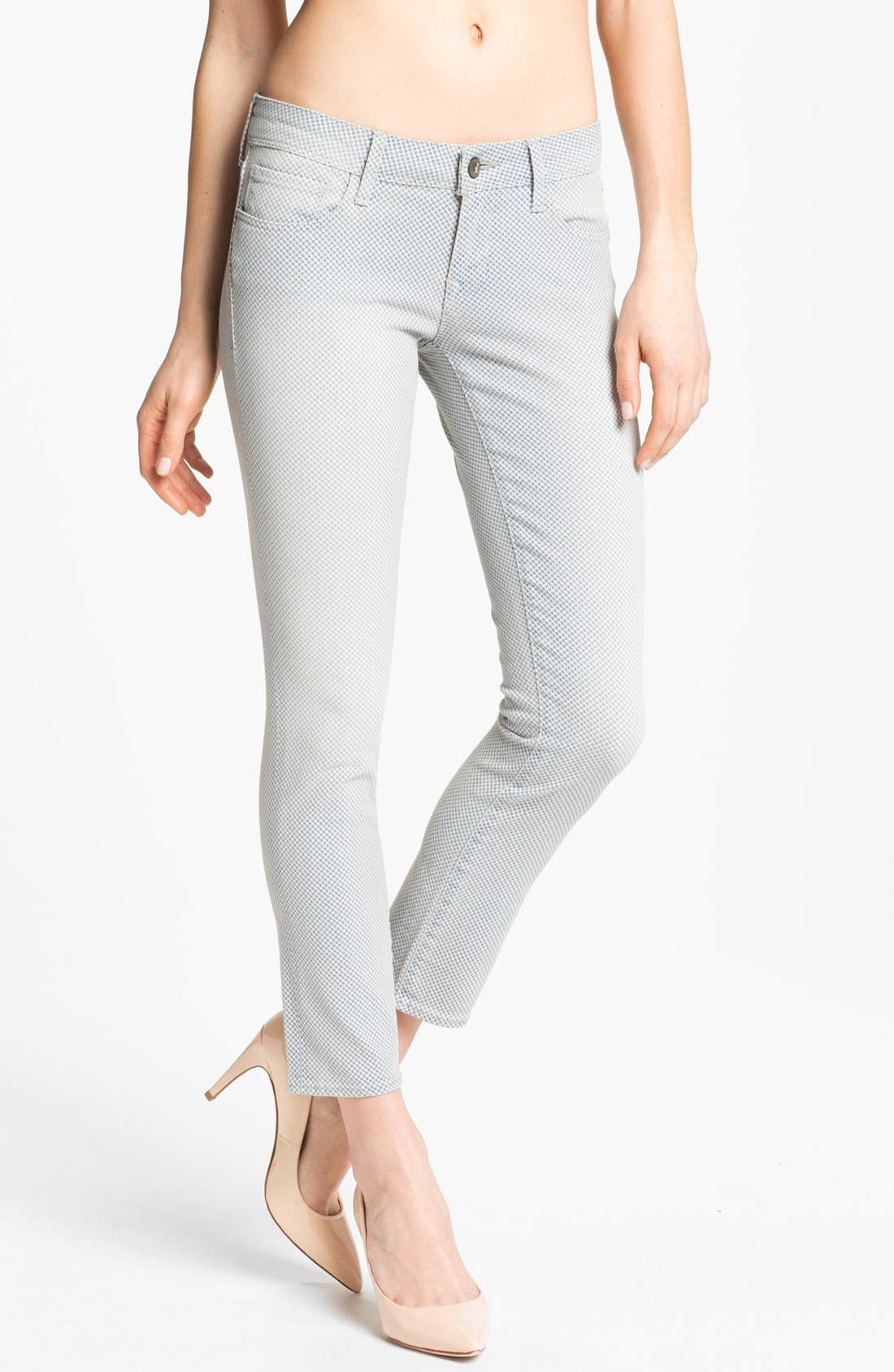 Alternate Image 1 Selected - Mavi Jeans 'Alexa' Super Skinny Print Jeans