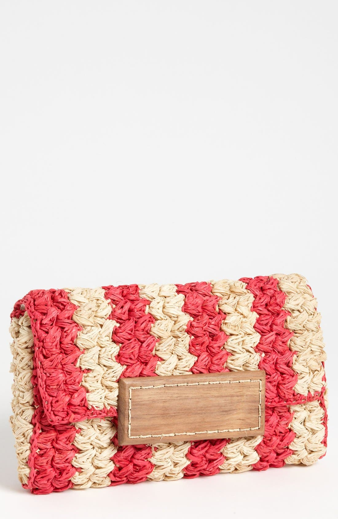 Alternate Image 1 Selected - Mar y Sol 'Remy' Braided Clutch