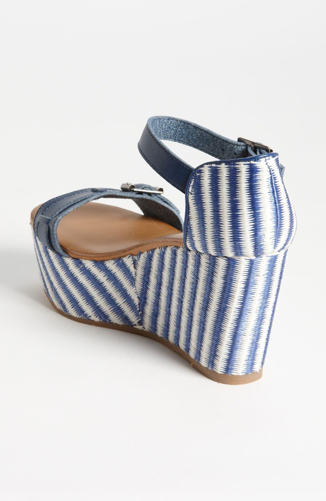 Alternate Image 2  - BC Footwear 'Salt & Pepper' Wedge Sandal