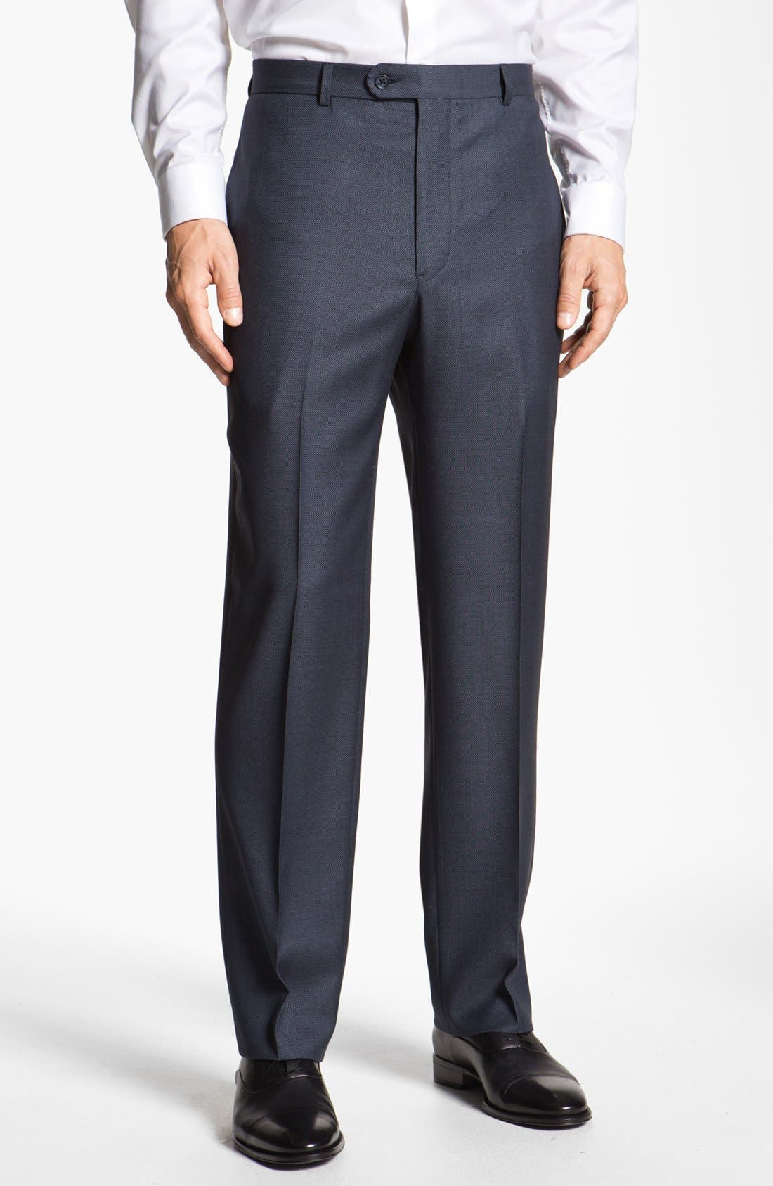 Alternate Image 4  - Joseph Abboud 'Signature Silver' Wool Suit (Online Only)
