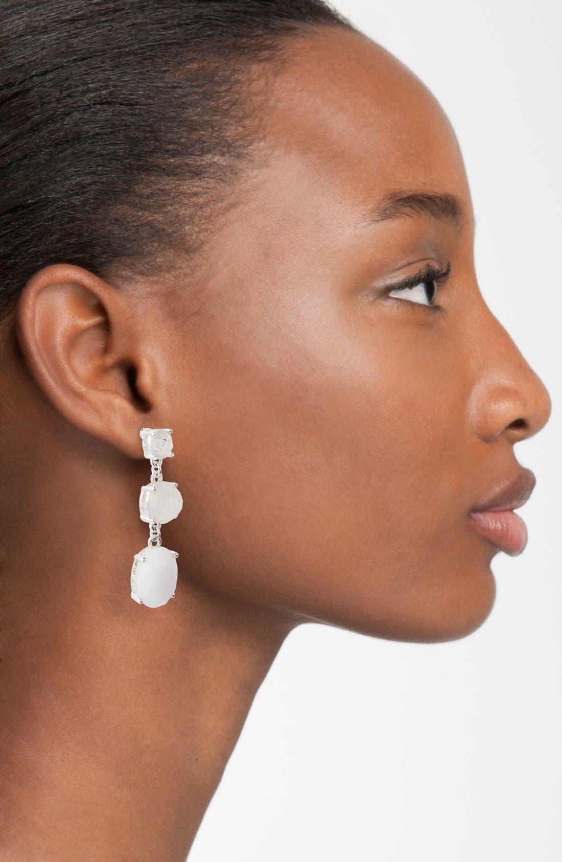 Alternate Image 2  - Anne Klein Triple Drop Earrings
