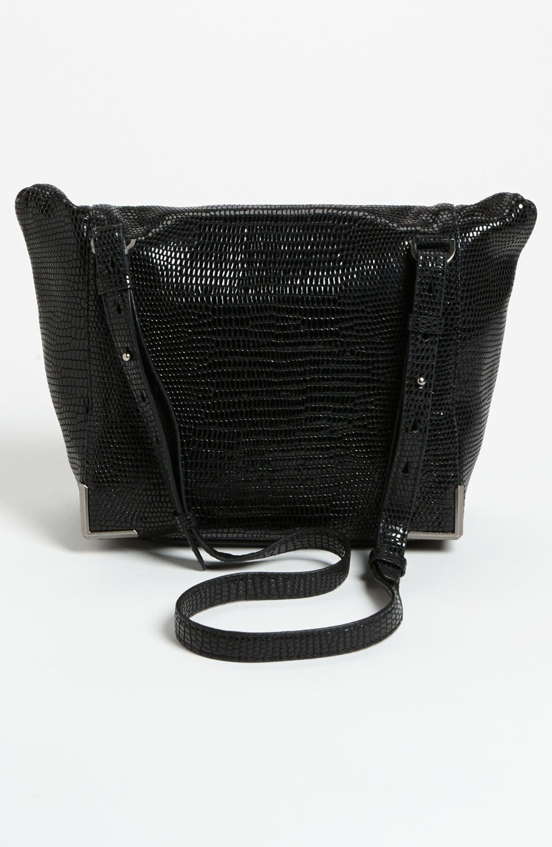 Alternate Image 4  - Alexander Wang 'Prisma - Skeletal Lunchbag' Lizard Embossed Foldover Satchel
