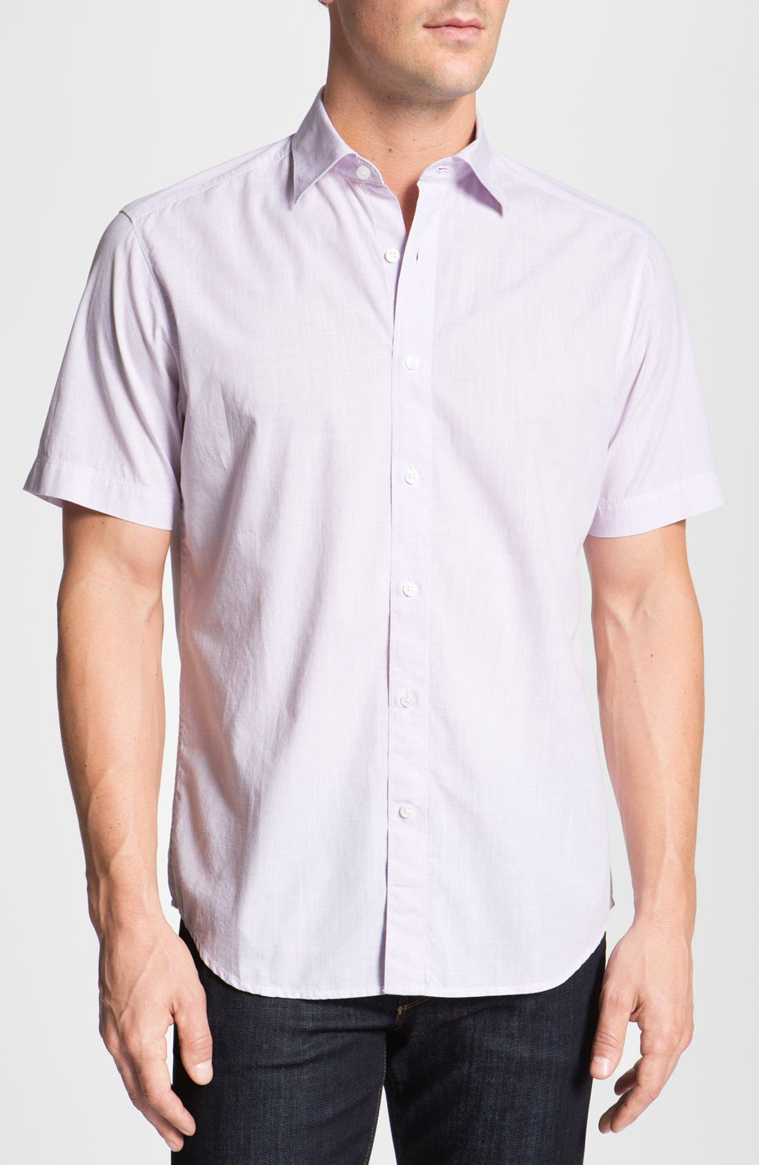 Alternate Image 1 Selected - James Campbell 'Barto' Sport Shirt