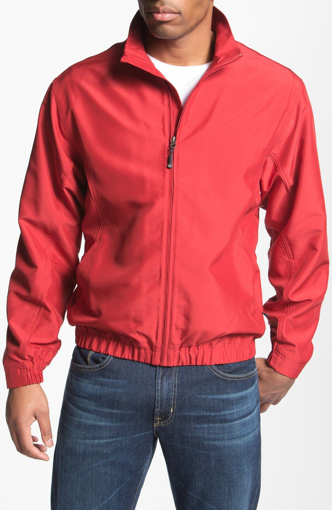 Main Image - Cutter & Buck 'Astute' Windbreaker Jacket (Big & Tall)
