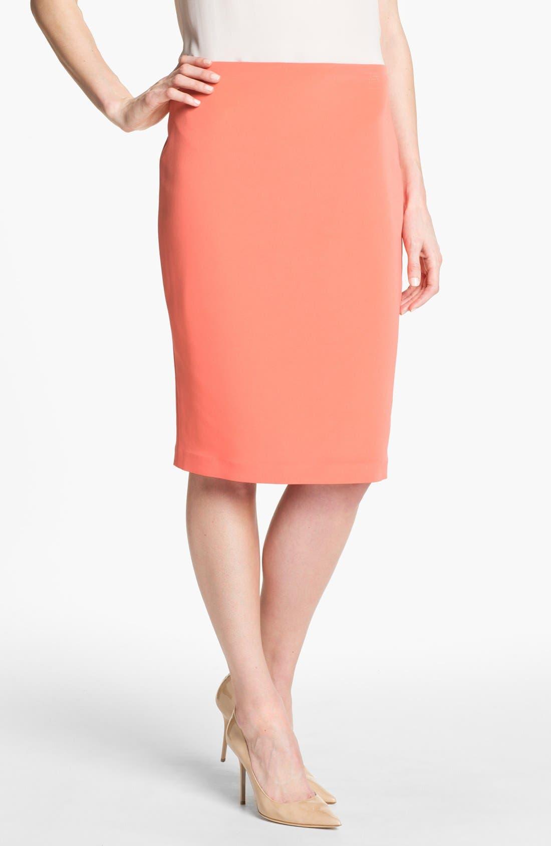 Main Image - Elie Tahari 'Penelope - Luxe Crepe' Skirt