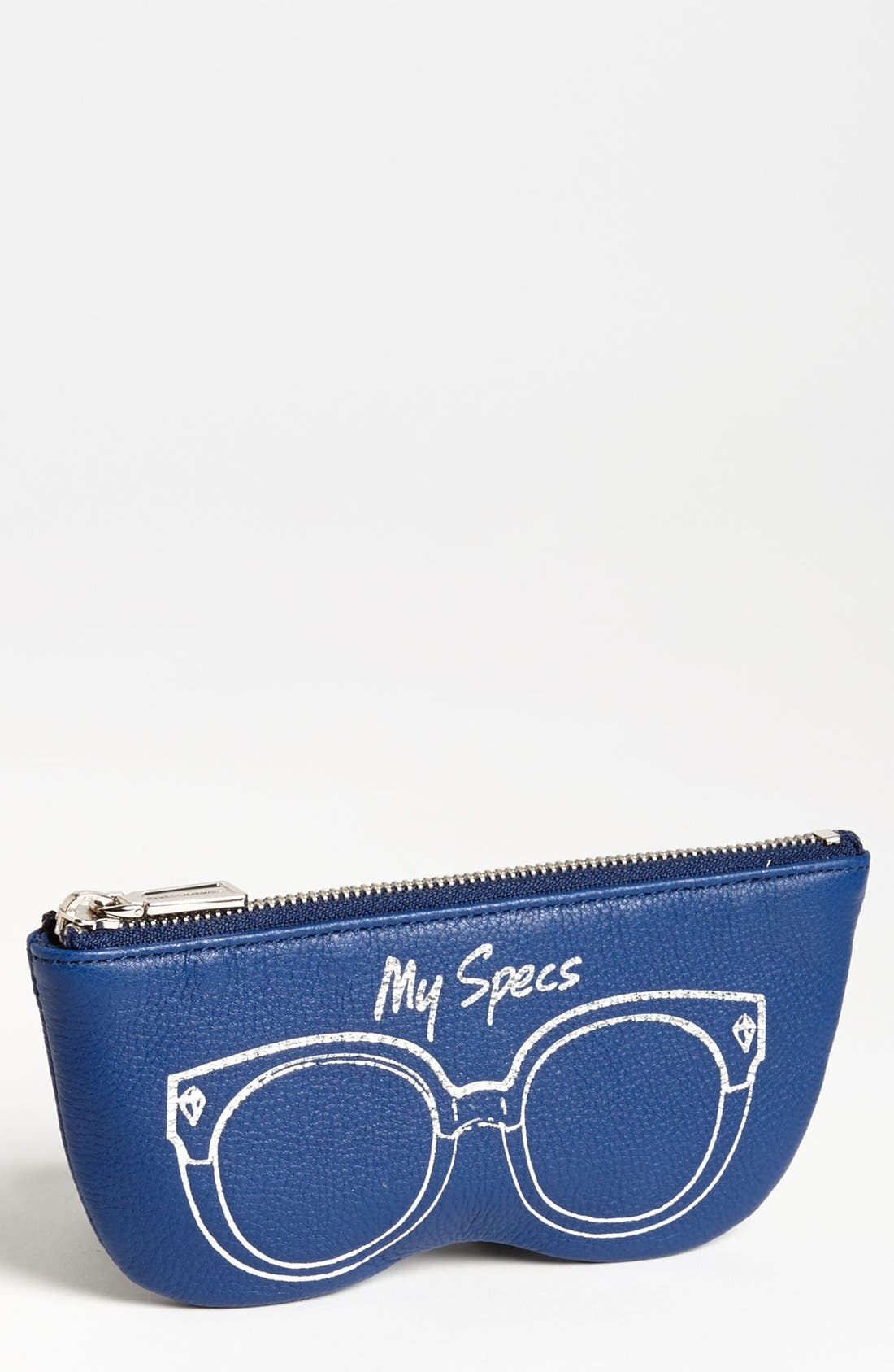 Alternate Image 1 Selected - Rebecca Minkoff Leather Sunglasses Case (Online Only)