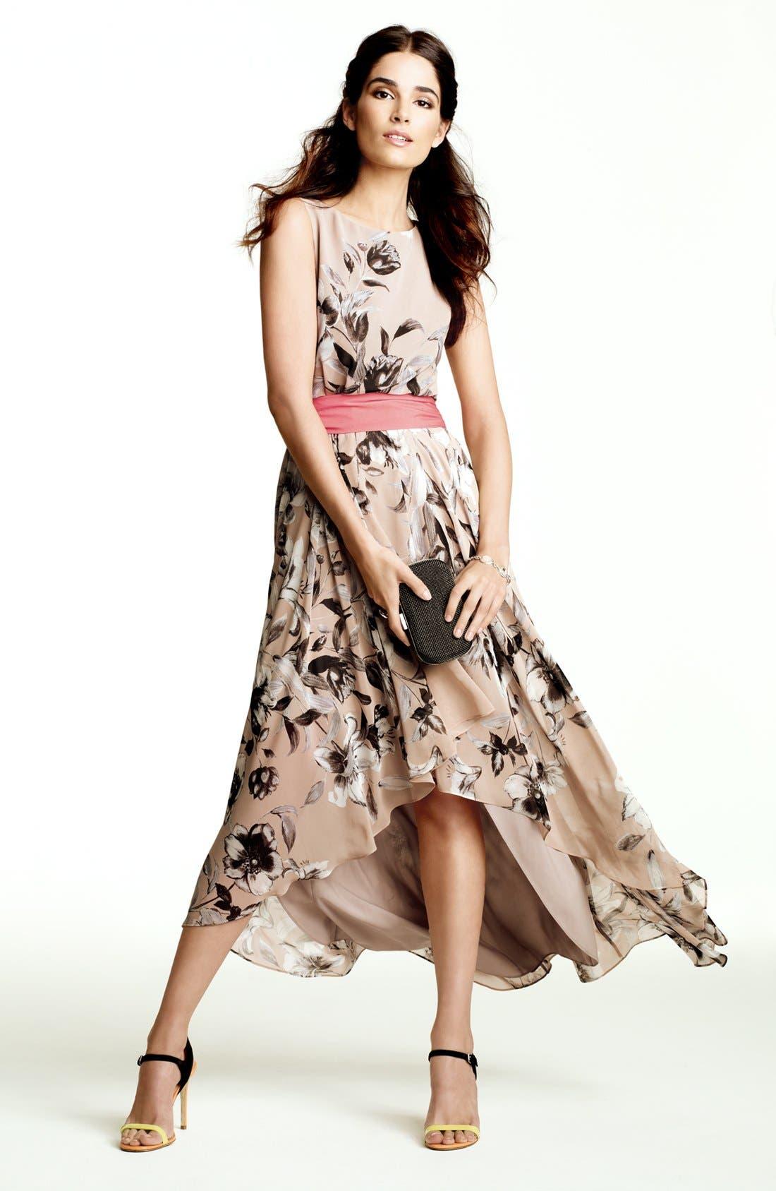 Alternate Image 1 Selected - Eliza J Maxi Dress & Accessories