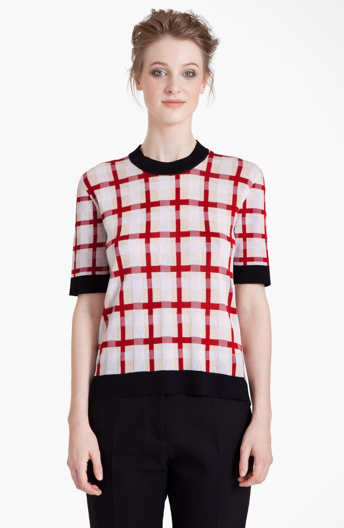 Alternate Image 2  - Marni Grid Pattern Sweater