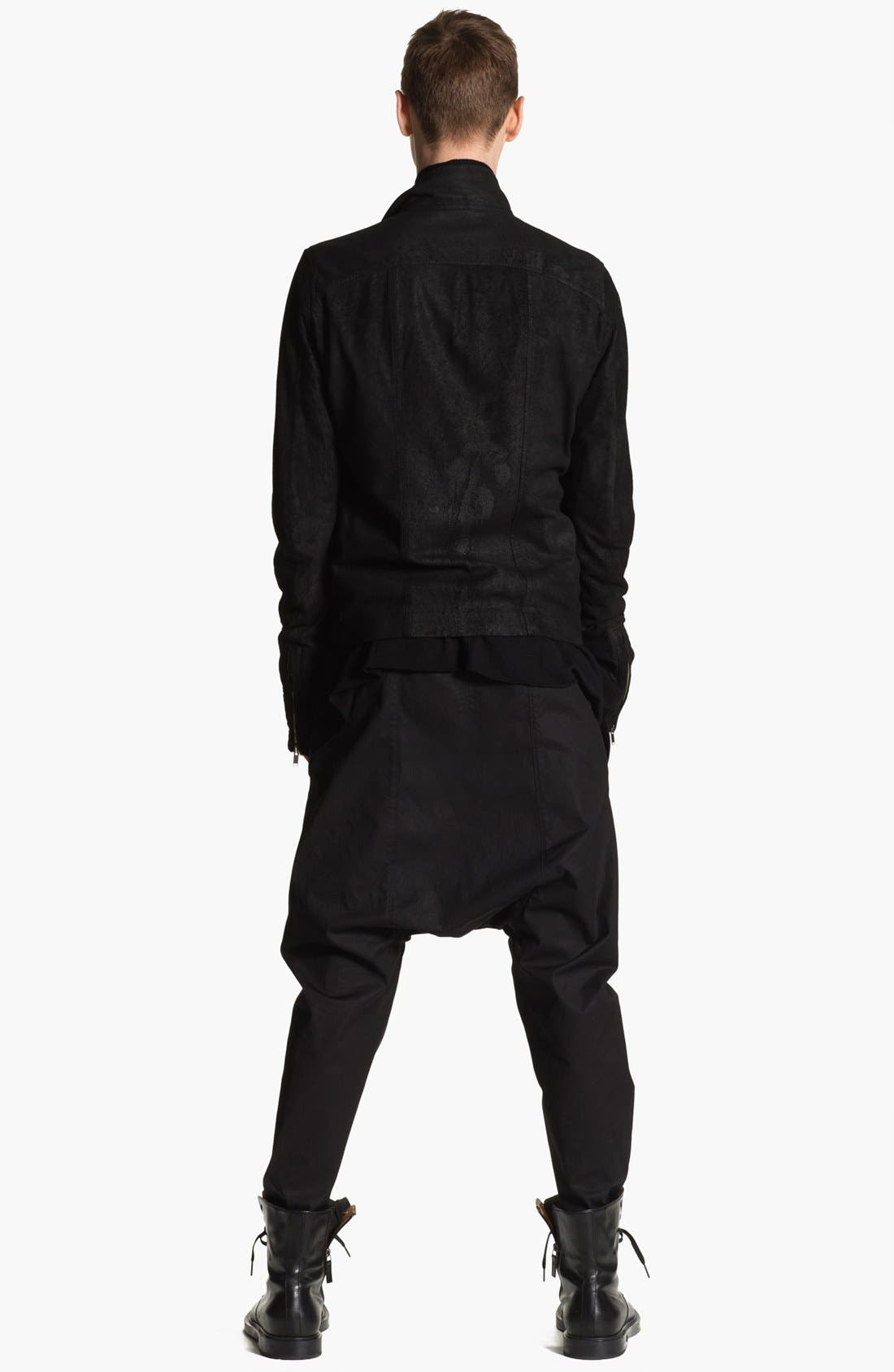 Alternate Image 6  - Rick Owens 'Mollino' Lambskin Leather Jacket