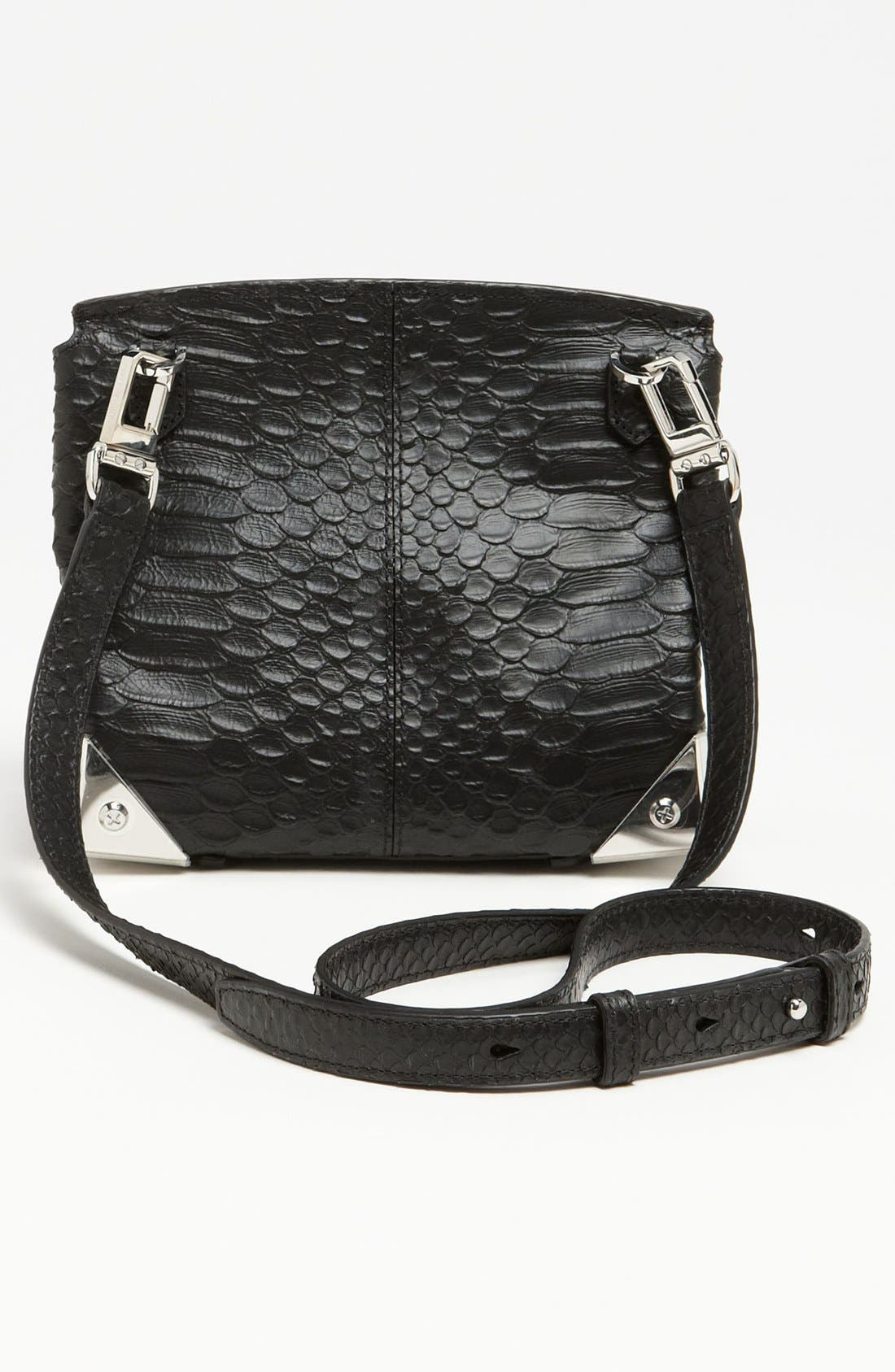 Alternate Image 4  - Alexander Wang 'Marion - Prisma' Python Embossed Leather Crossbody Bag