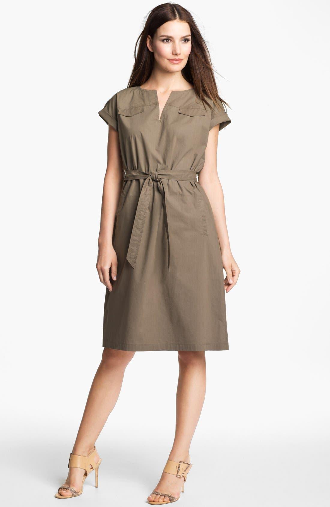 Main Image - Lafayette 148 New York Drop Shoulder Dress