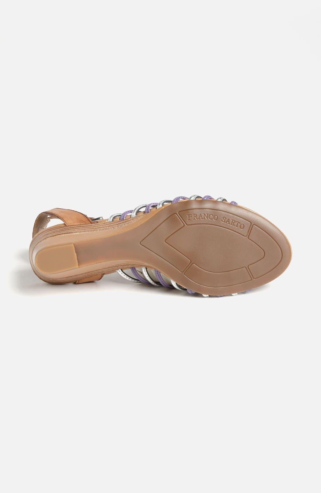 Alternate Image 4  - Franco Sarto 'Everly' Wedge Sandal