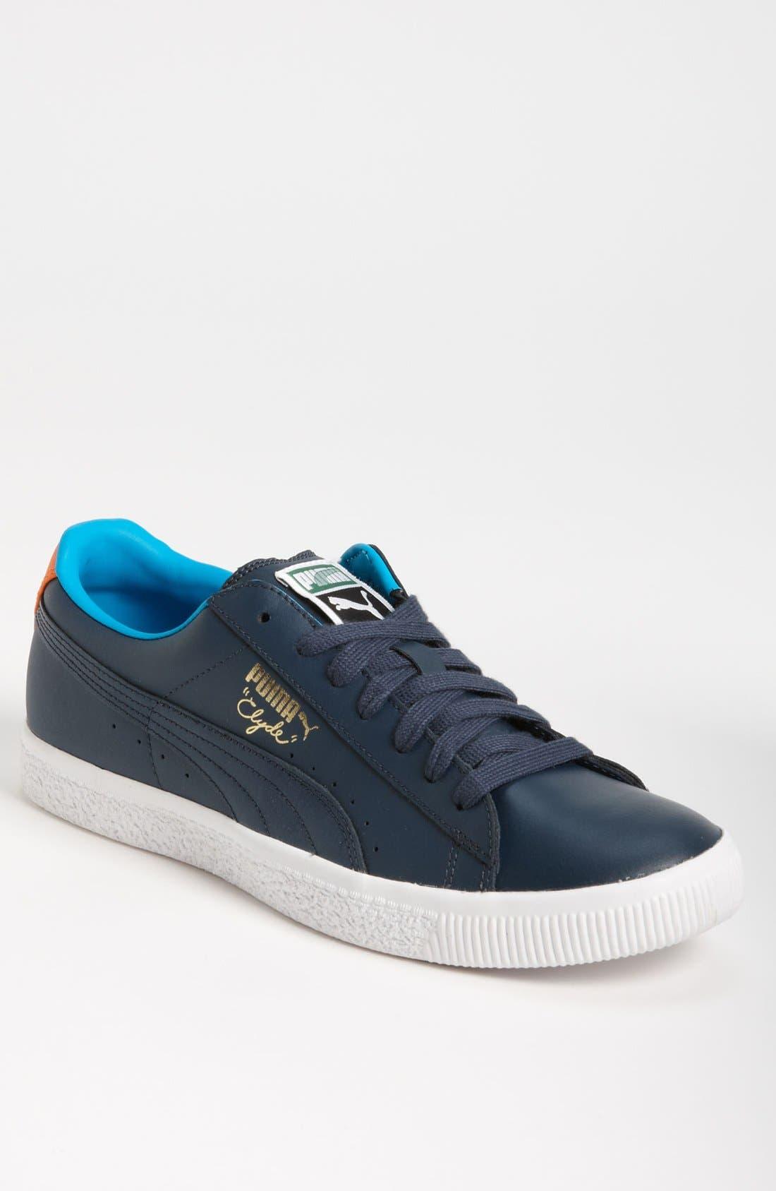 Alternate Image 1 Selected - PUMA 'Clyde' Sneaker (Men)