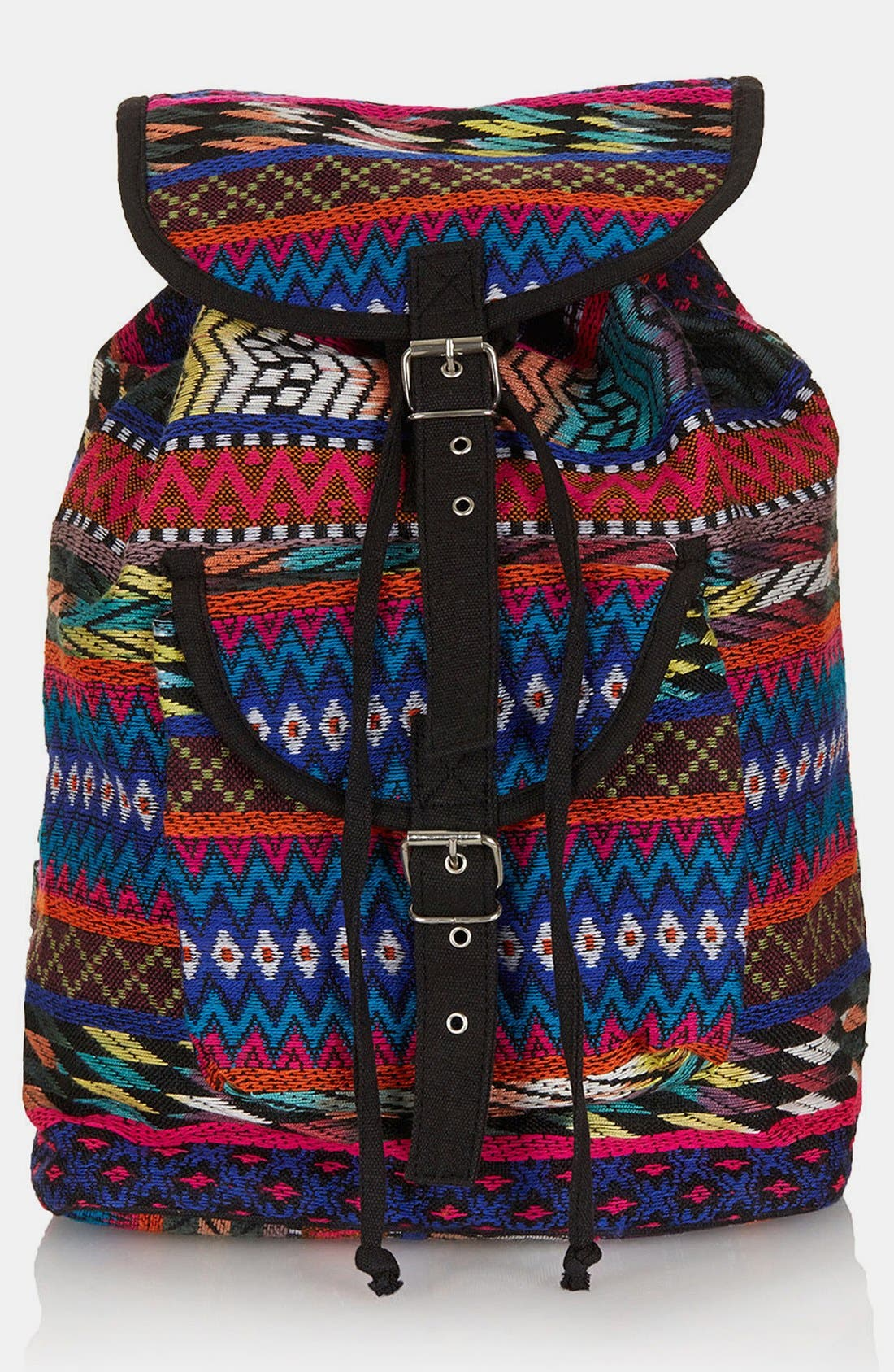 Main Image - Topshop Ikat Backpack