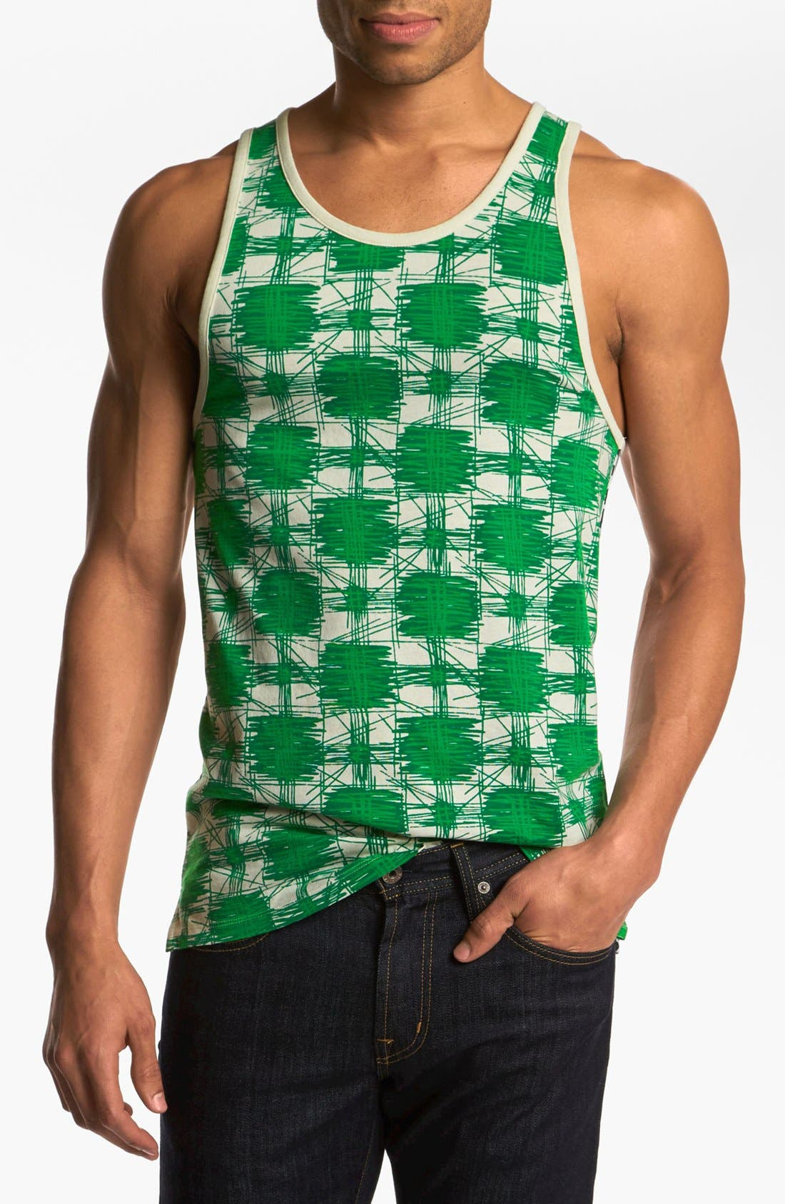 Alternate Image 1 Selected - MARC BY MARC JACOBS 'Sam Cheetah' Print Tank Top