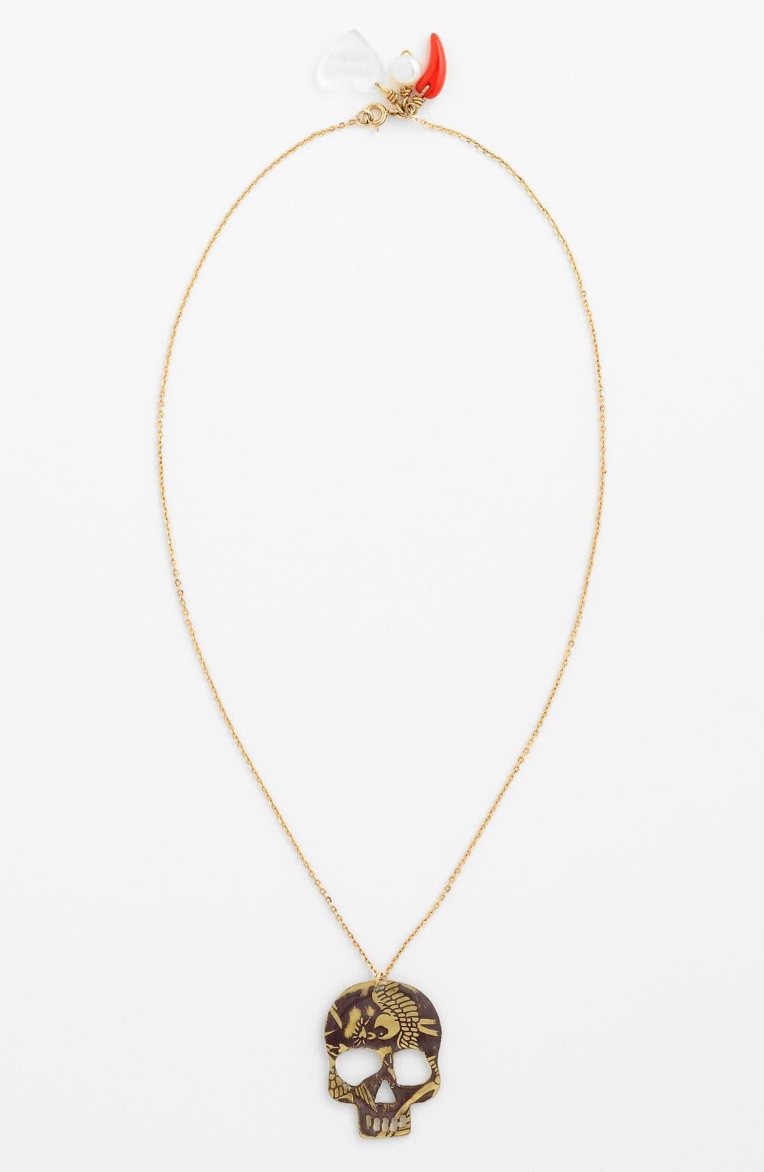 Main Image - MERCEDES SALAZAR Skull Necklace
