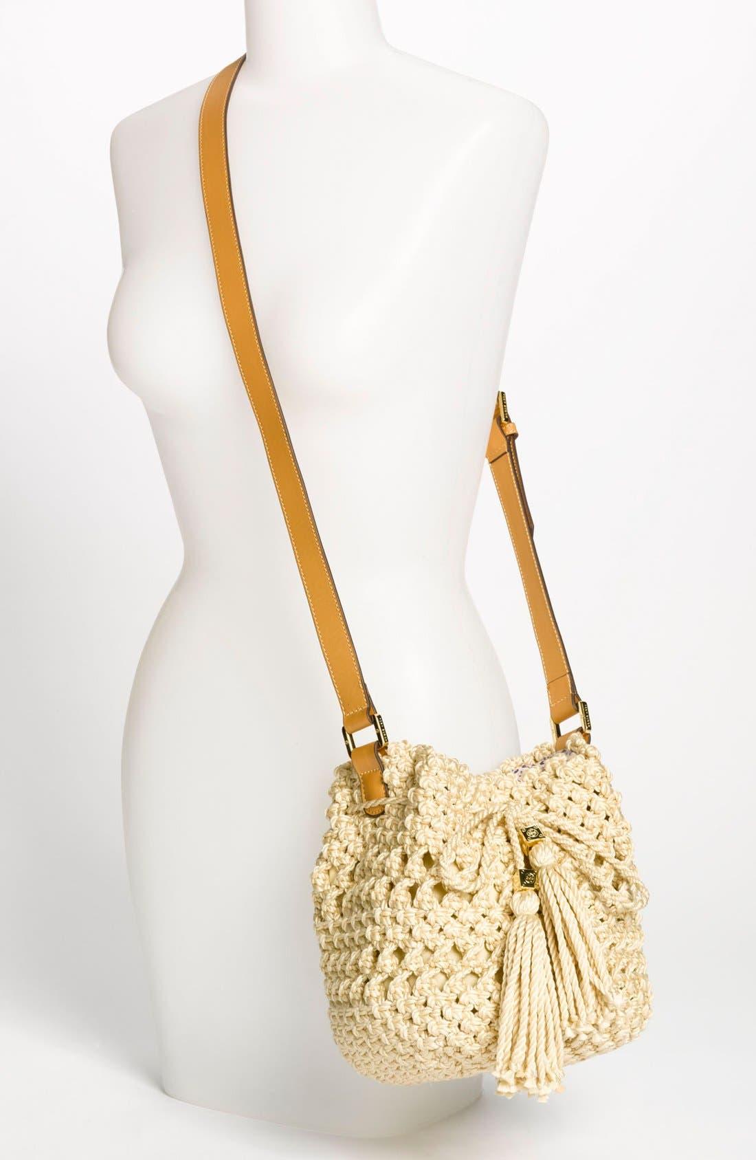Alternate Image 2  - Tory Burch 'Dawson - Small' Crocheted Bucket Bag