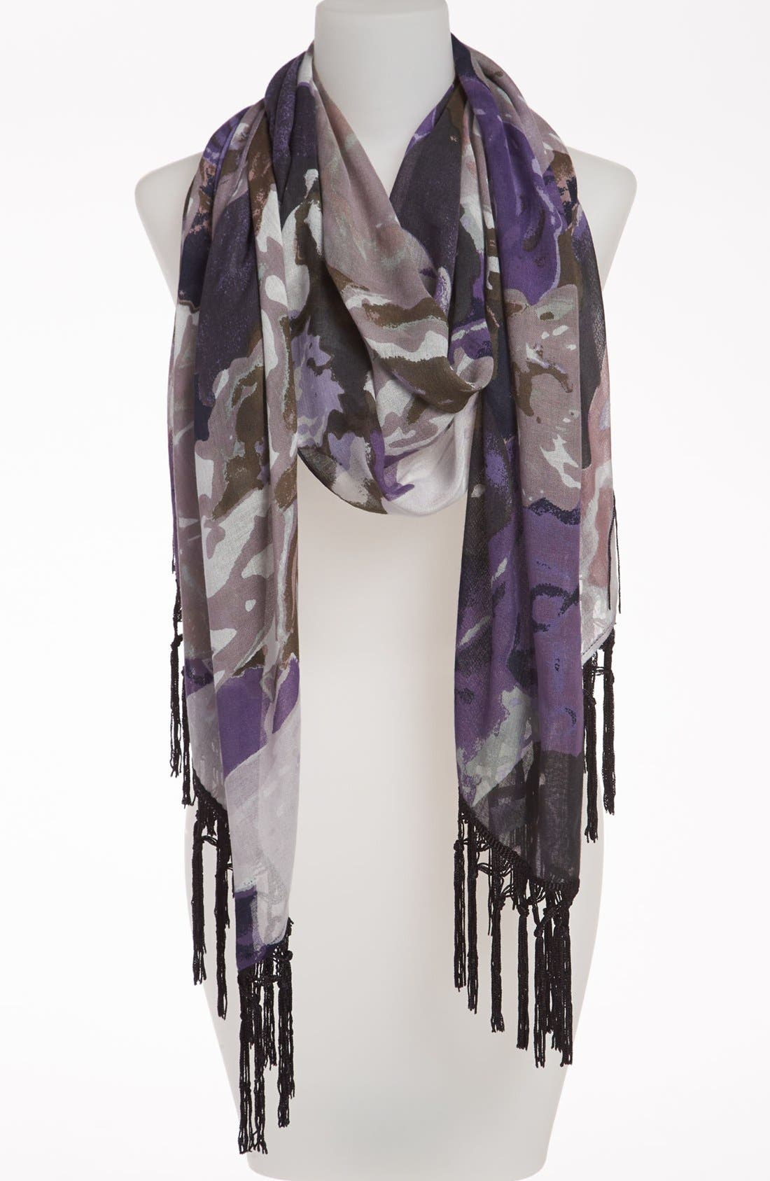 Alternate Image 1 Selected - Nordstrom 'Timeless Floral' Scarf