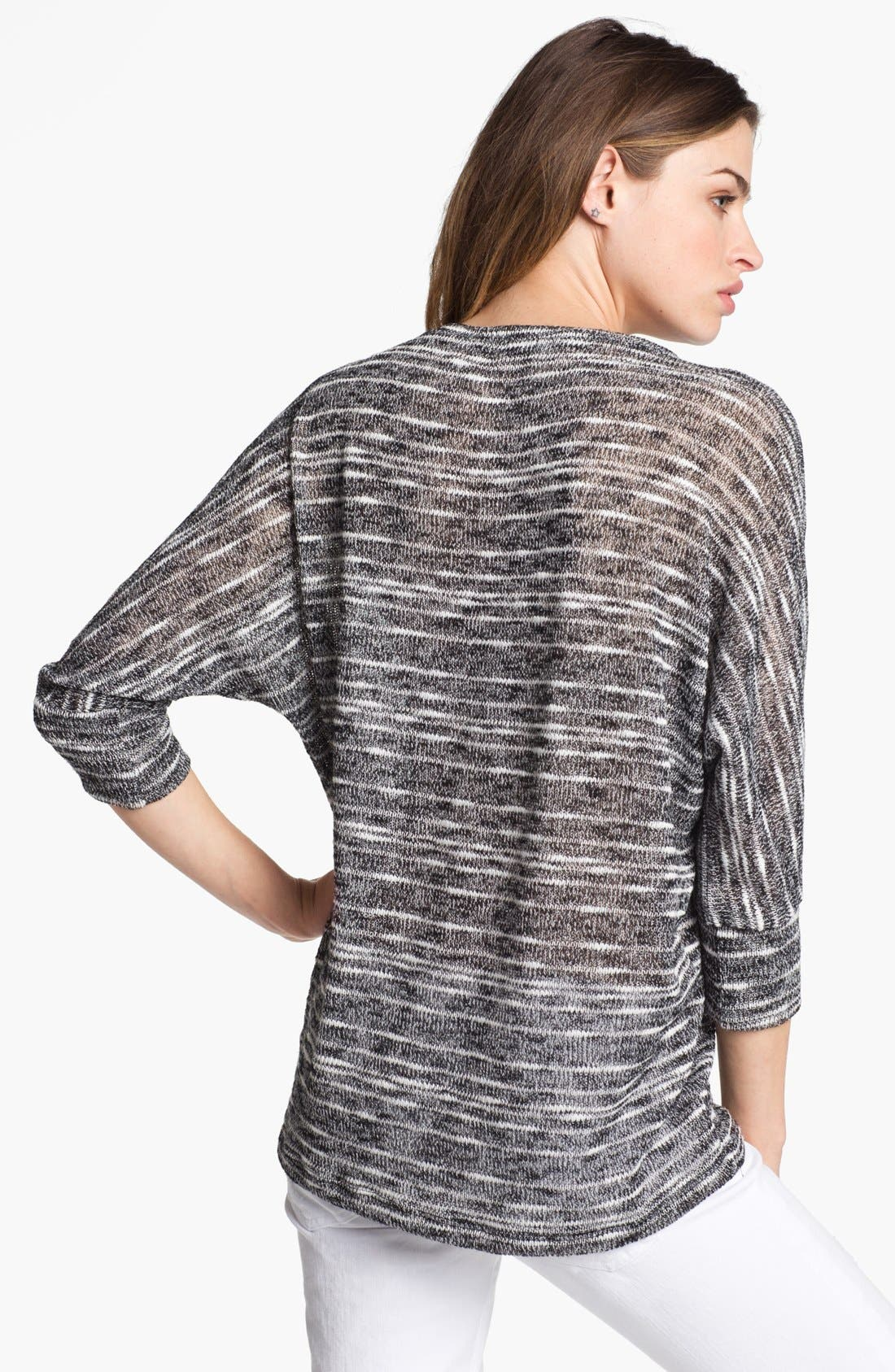 Alternate Image 2  - Splendid 'Norwegian' Slub Stripe Dolman Sweater