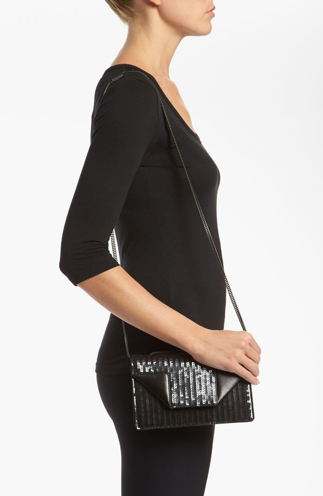 Alternate Image 2  - Saint Laurent 'Betty' Sequin Leather Shoulder Bag