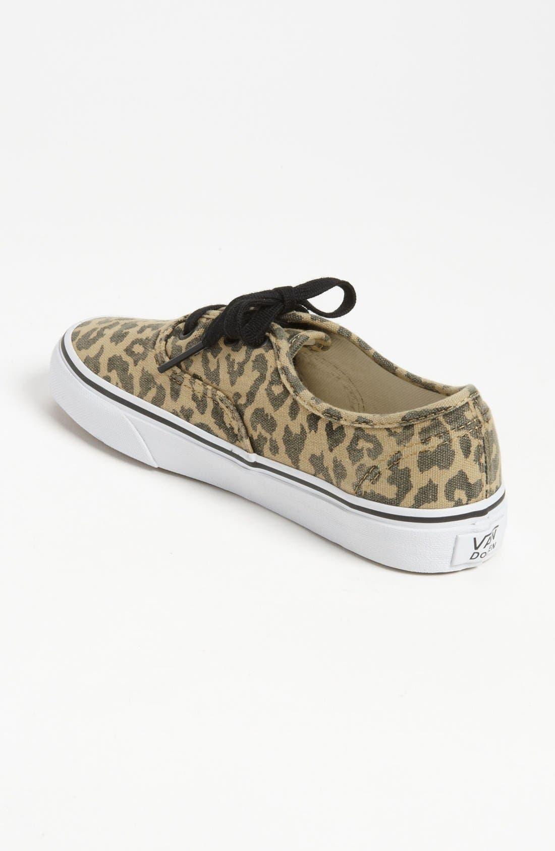Alternate Image 2  - Vans 'Authentic - Van Doren' Sneaker (Women)